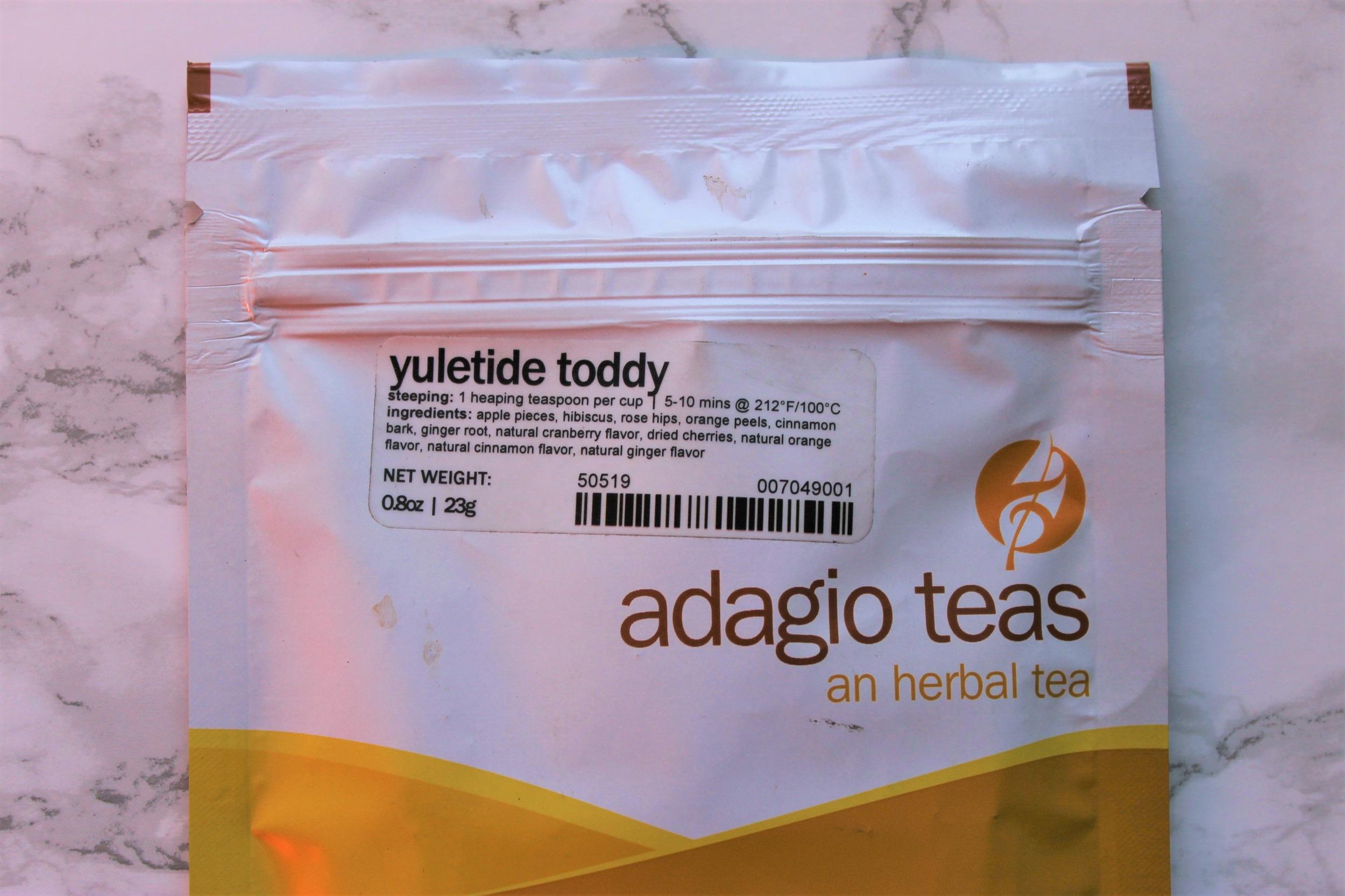 adagio yuletide fruit tea