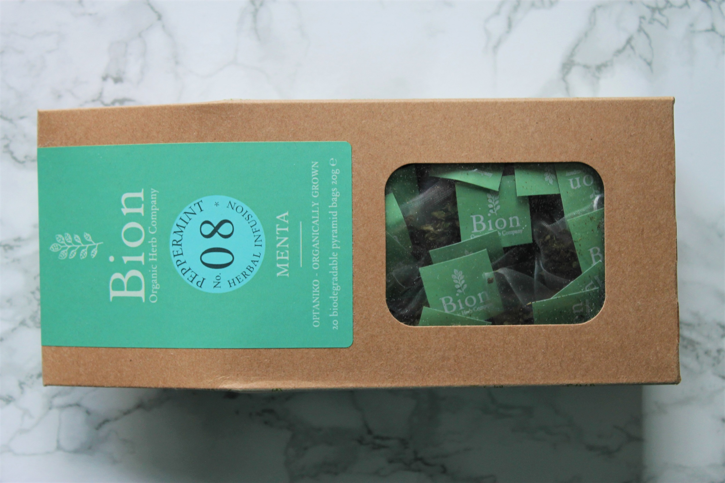 bion organic herb company peppermint