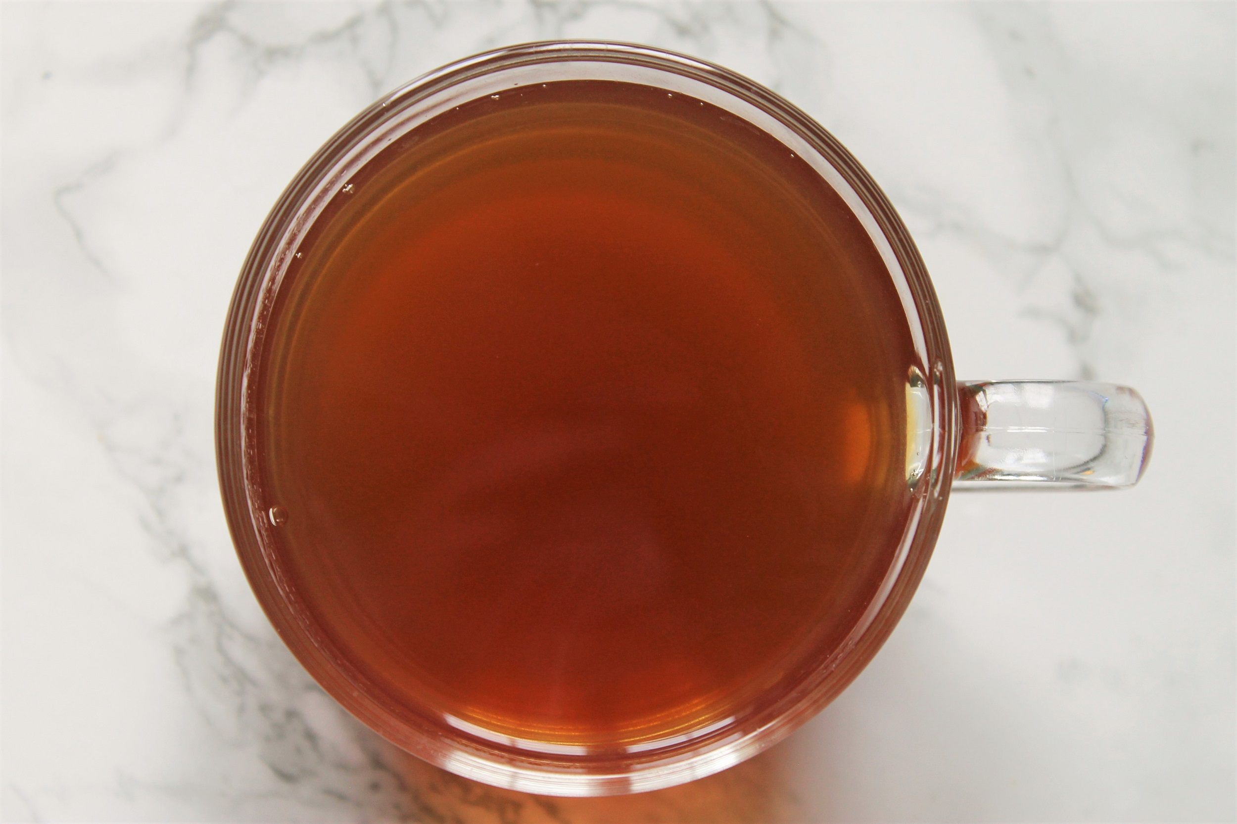 black spiced chai tea