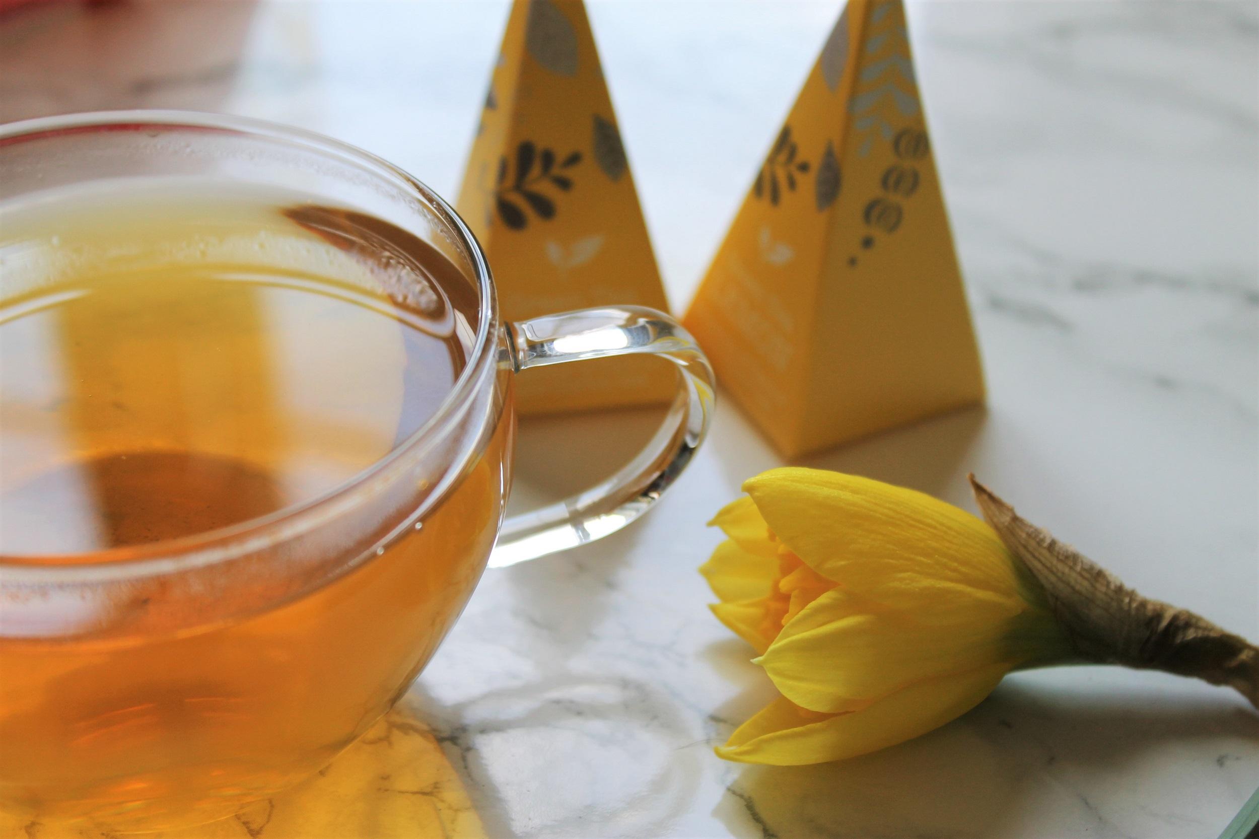 sensation of flavour green tea