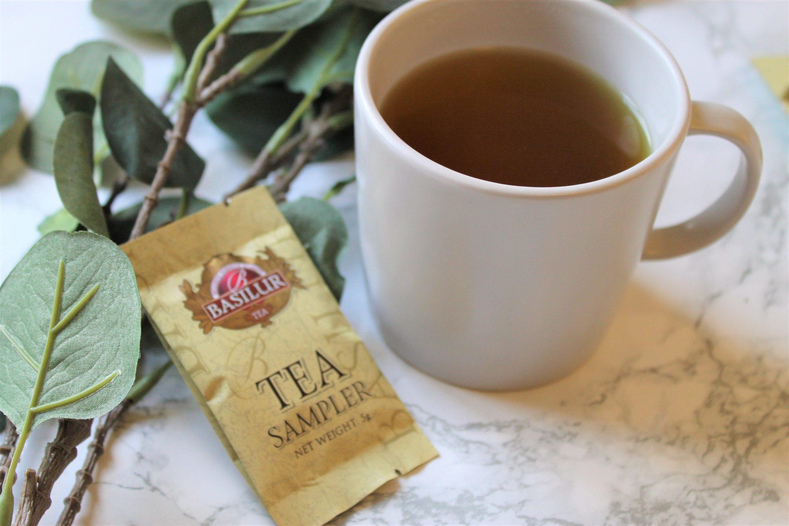 basilur herbal tea moringa sample