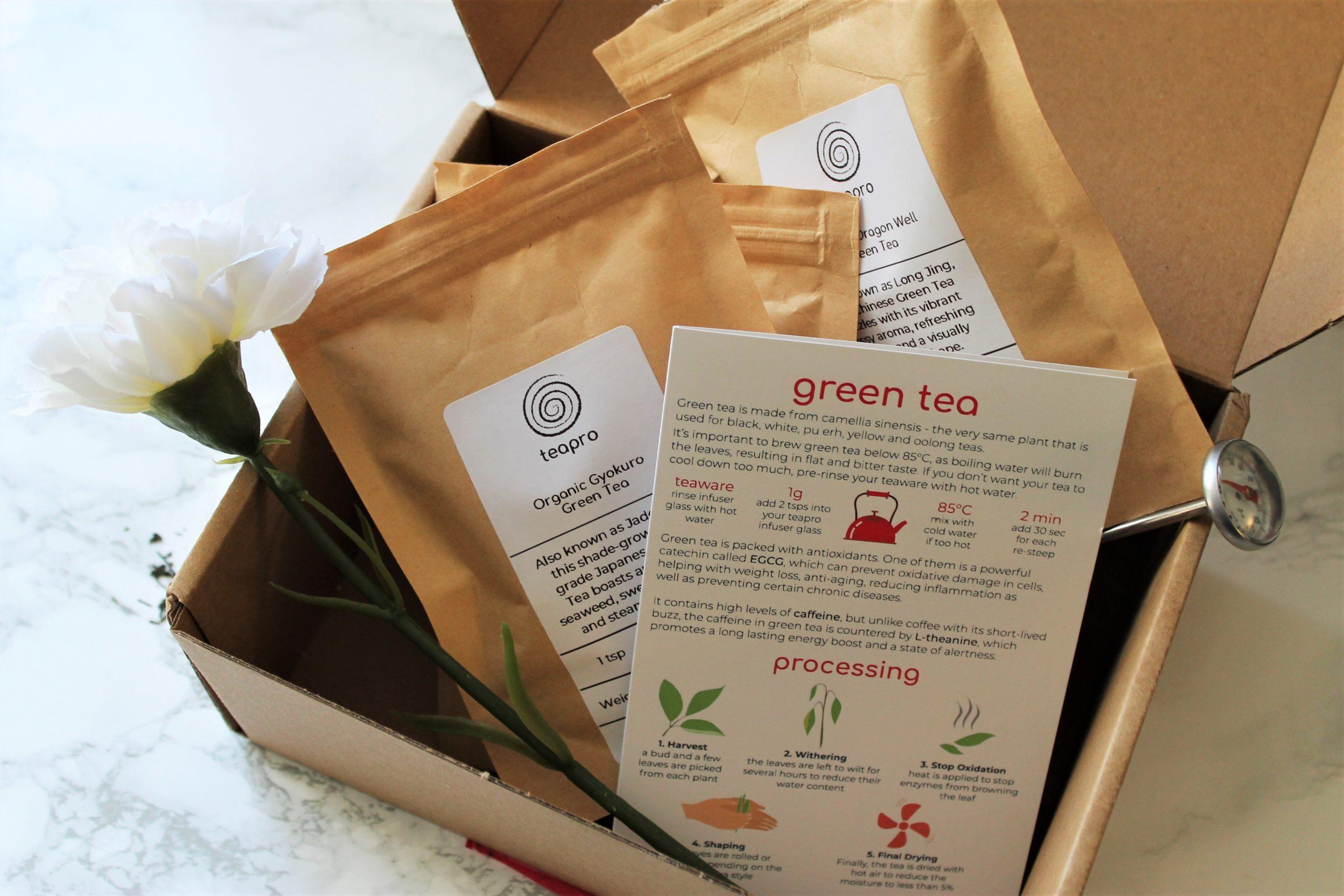 green tea subscription