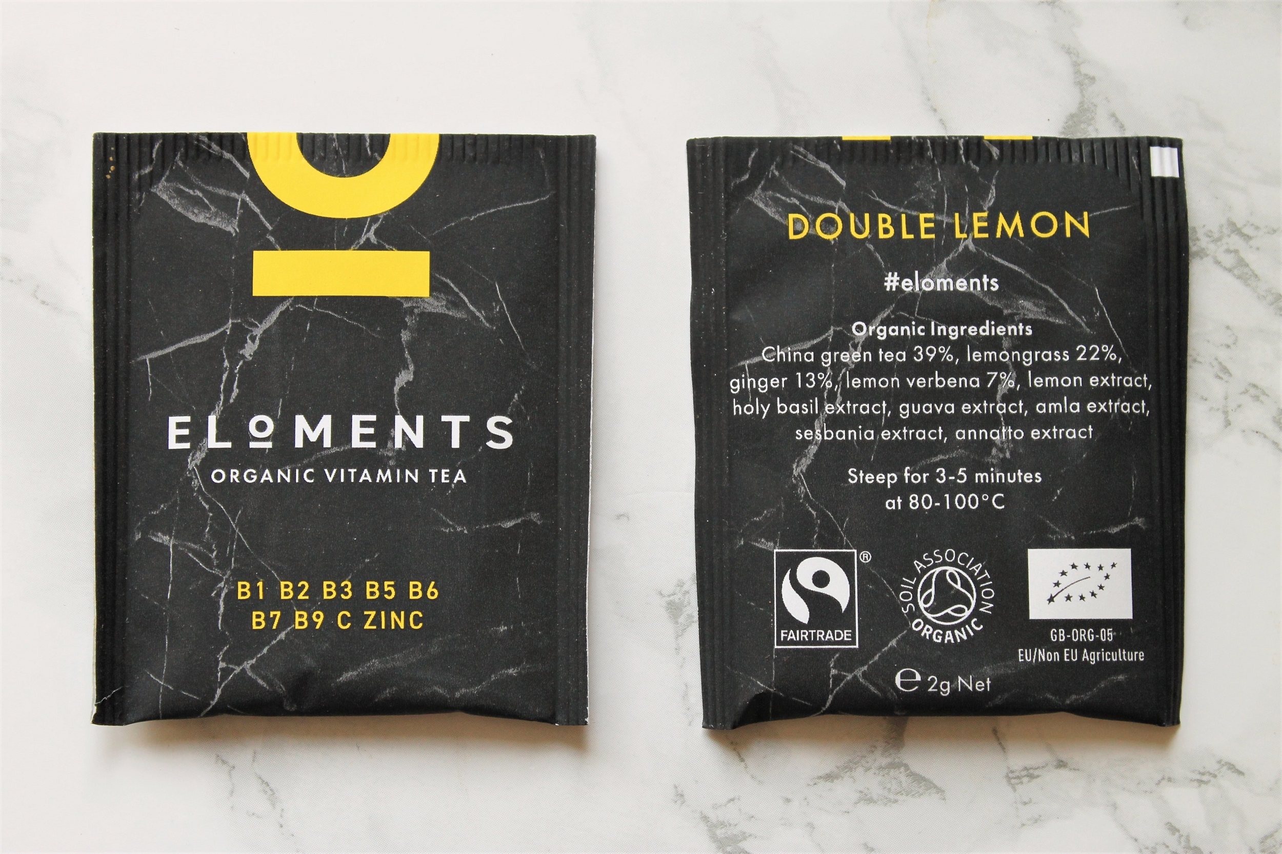 eloments vitamin teabags