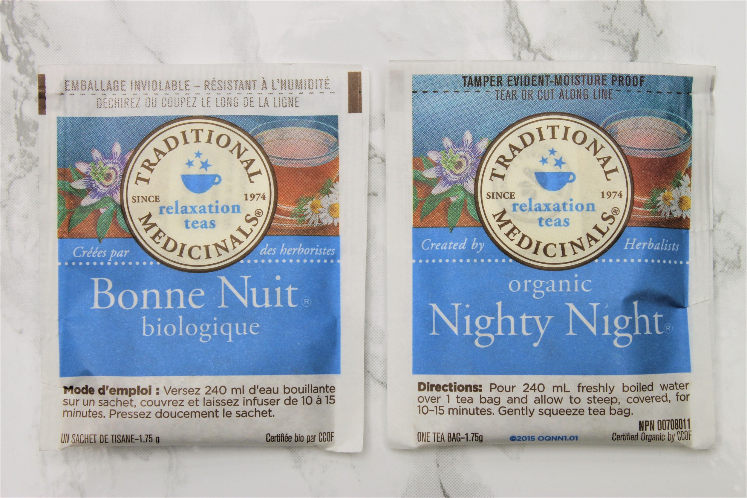 nighty night herbal teabags