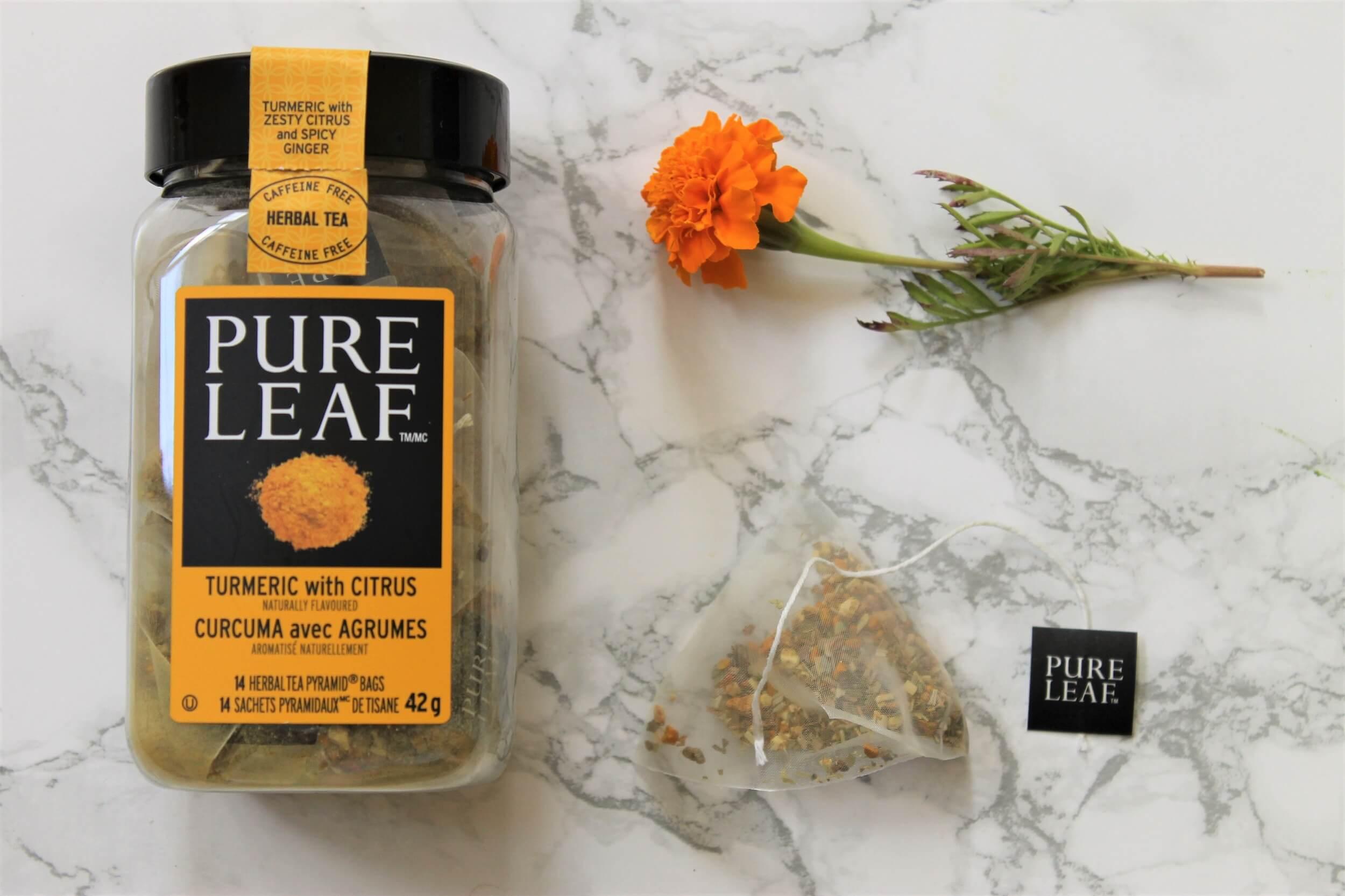 pure leaf turmeric tea