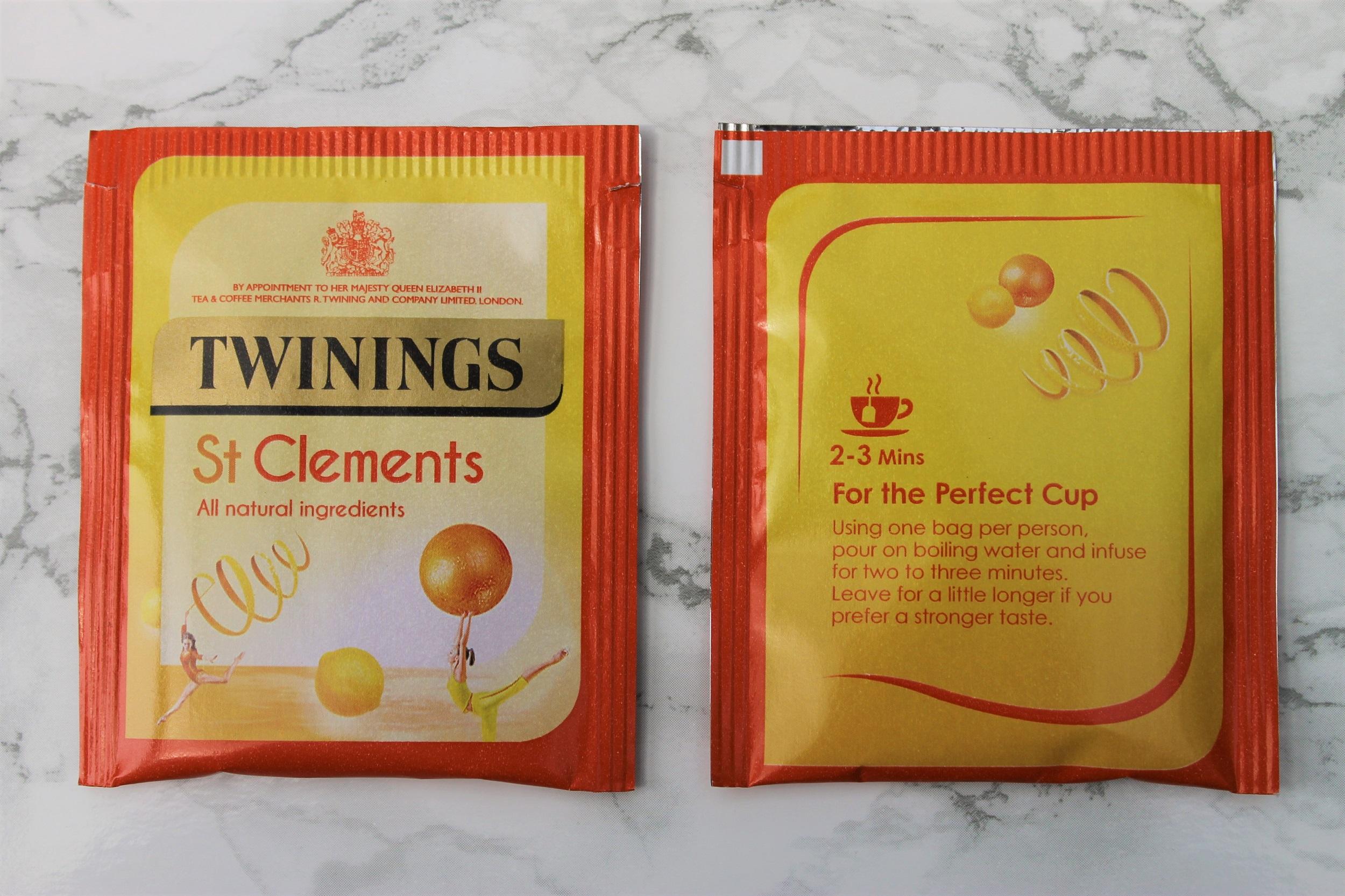 twinings orange fruit tea