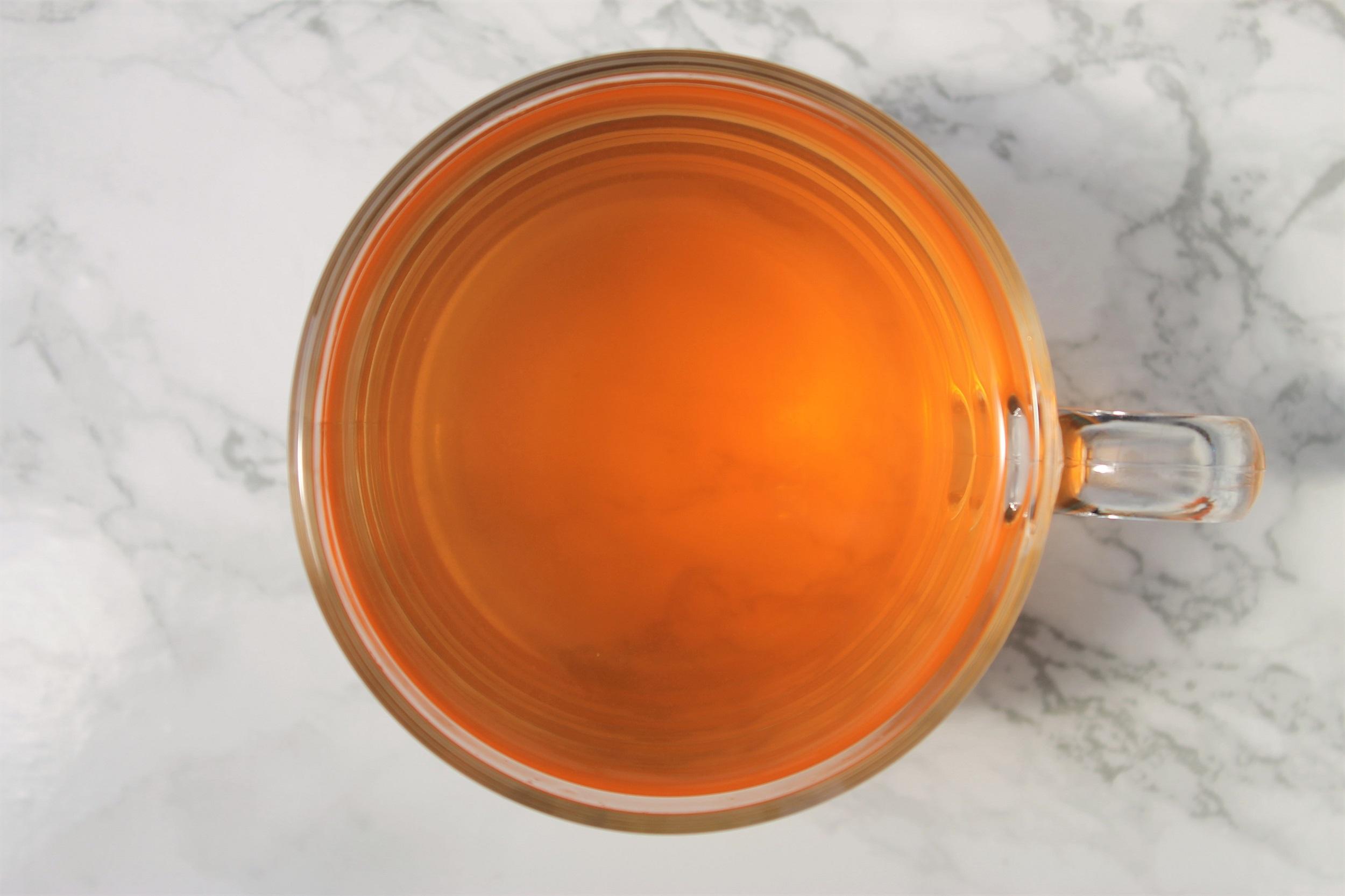cloudy clementine tea