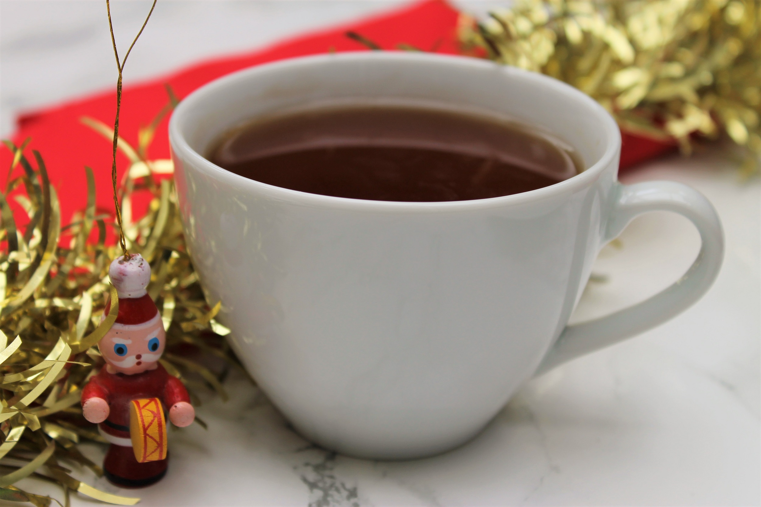 christmas themed teabags