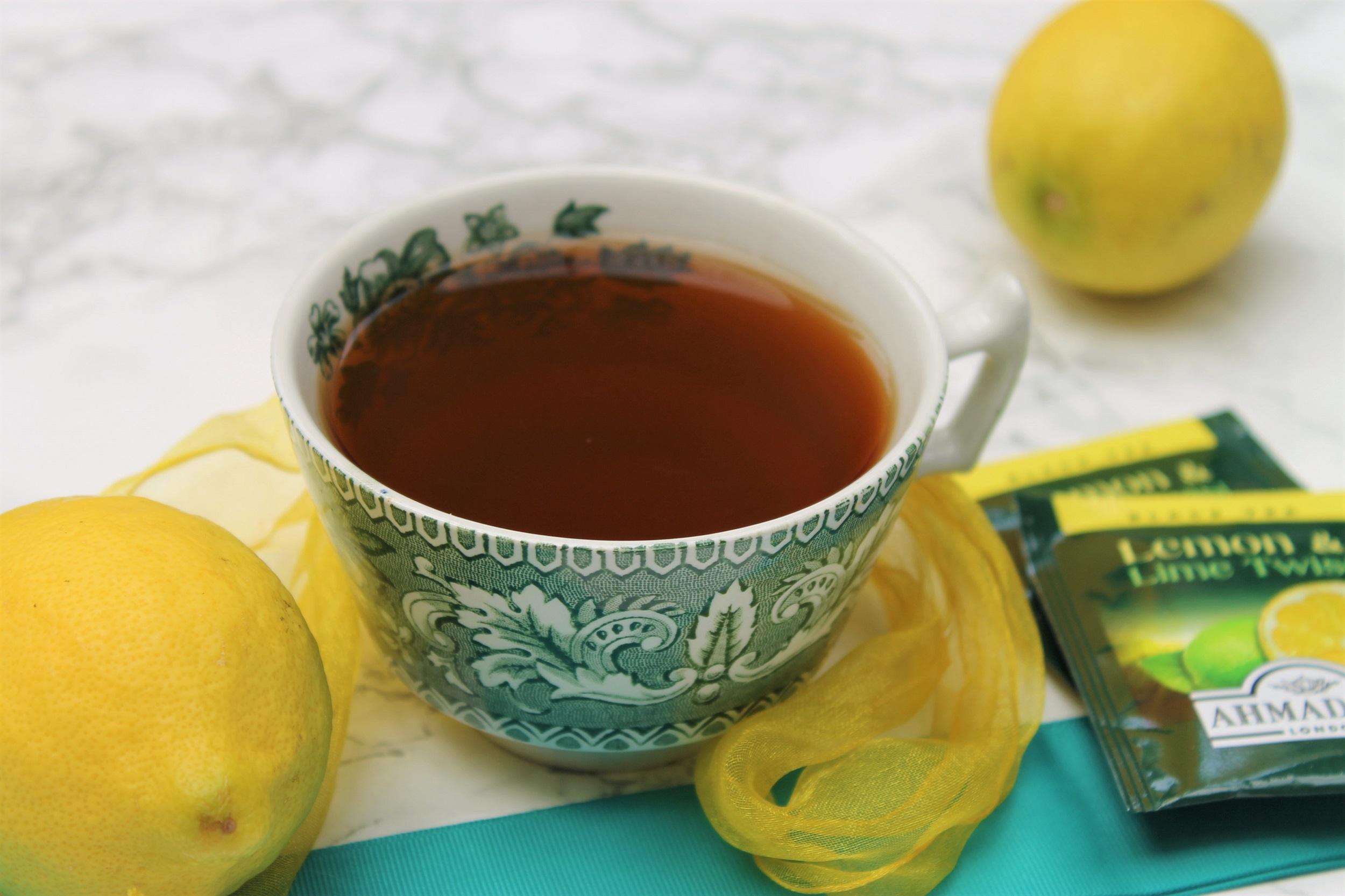 lemon and lime twist tea