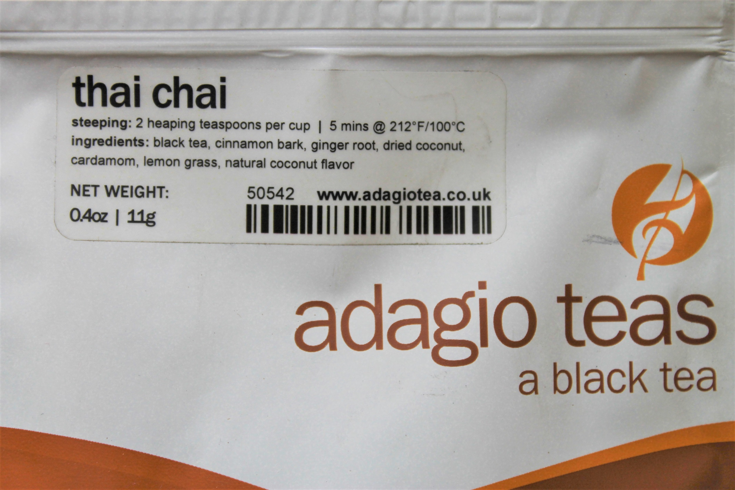 adagio spiced thai tea