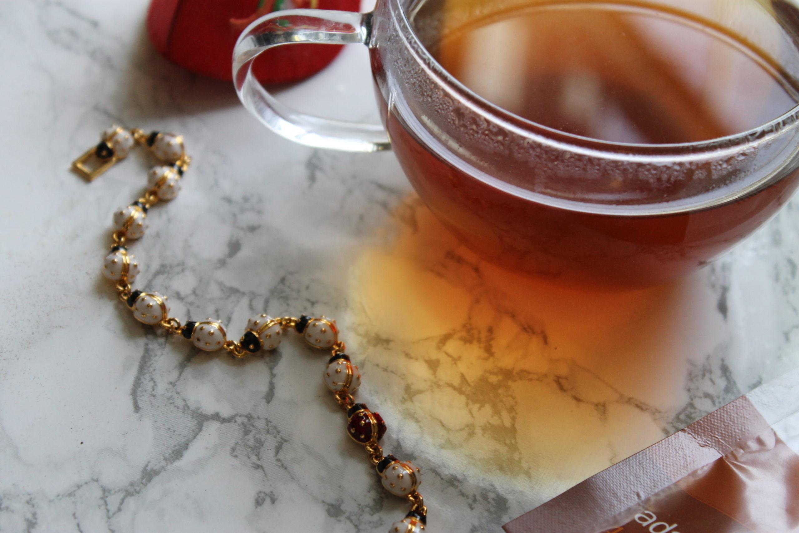 ladybug and teacup