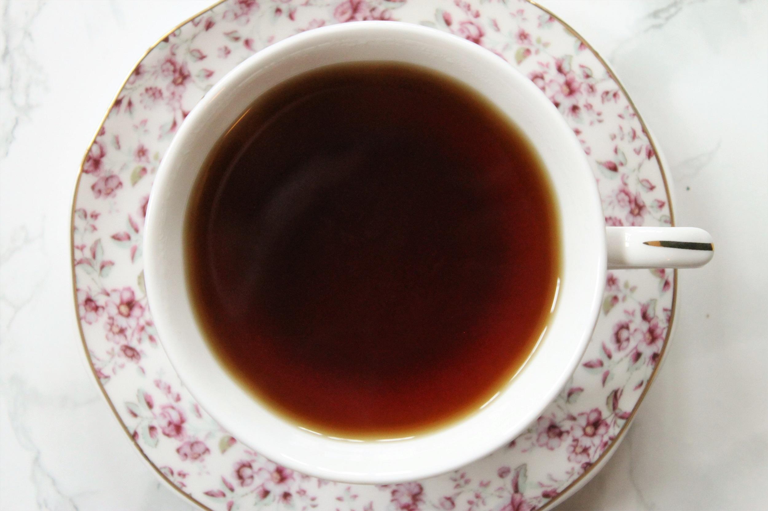 boh rose lychee tea cup