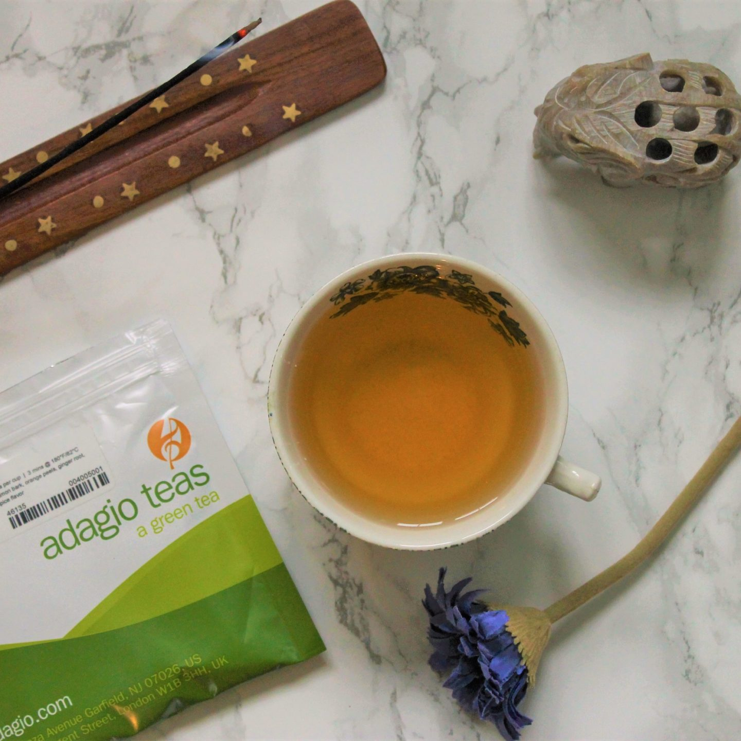 Adagio Green Chai Review