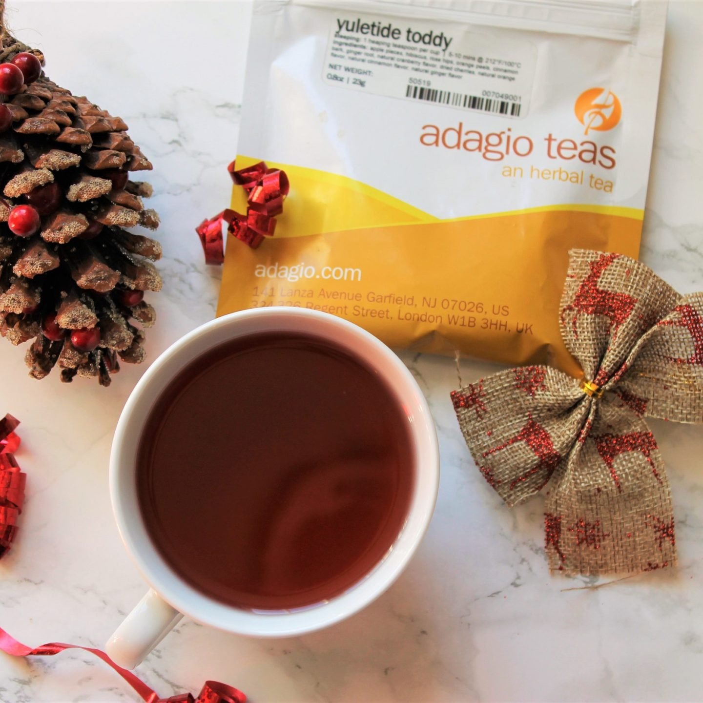 Adagio Yuletide Toddy Tea Review
