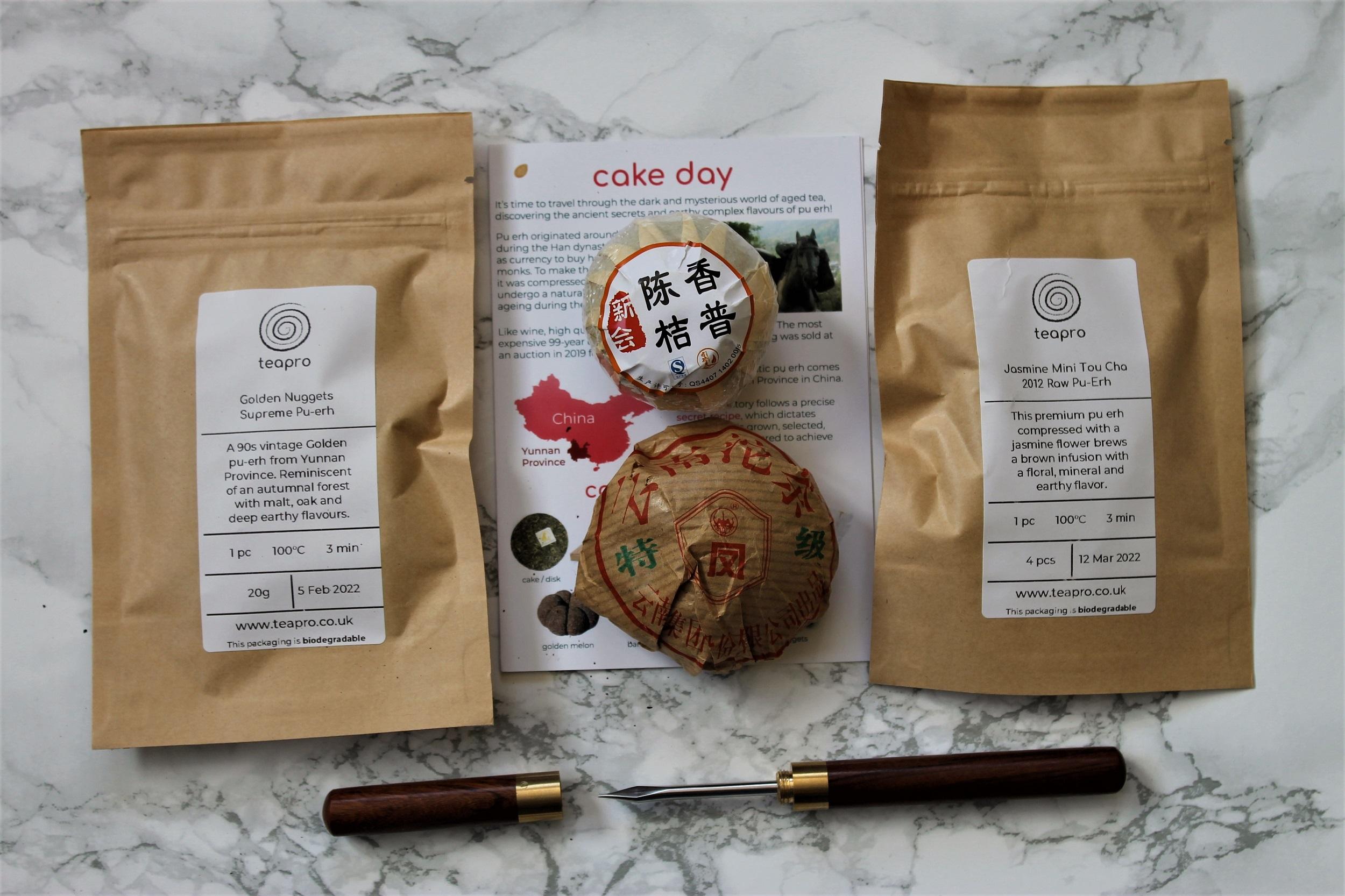 teapro subscription puehr tea review