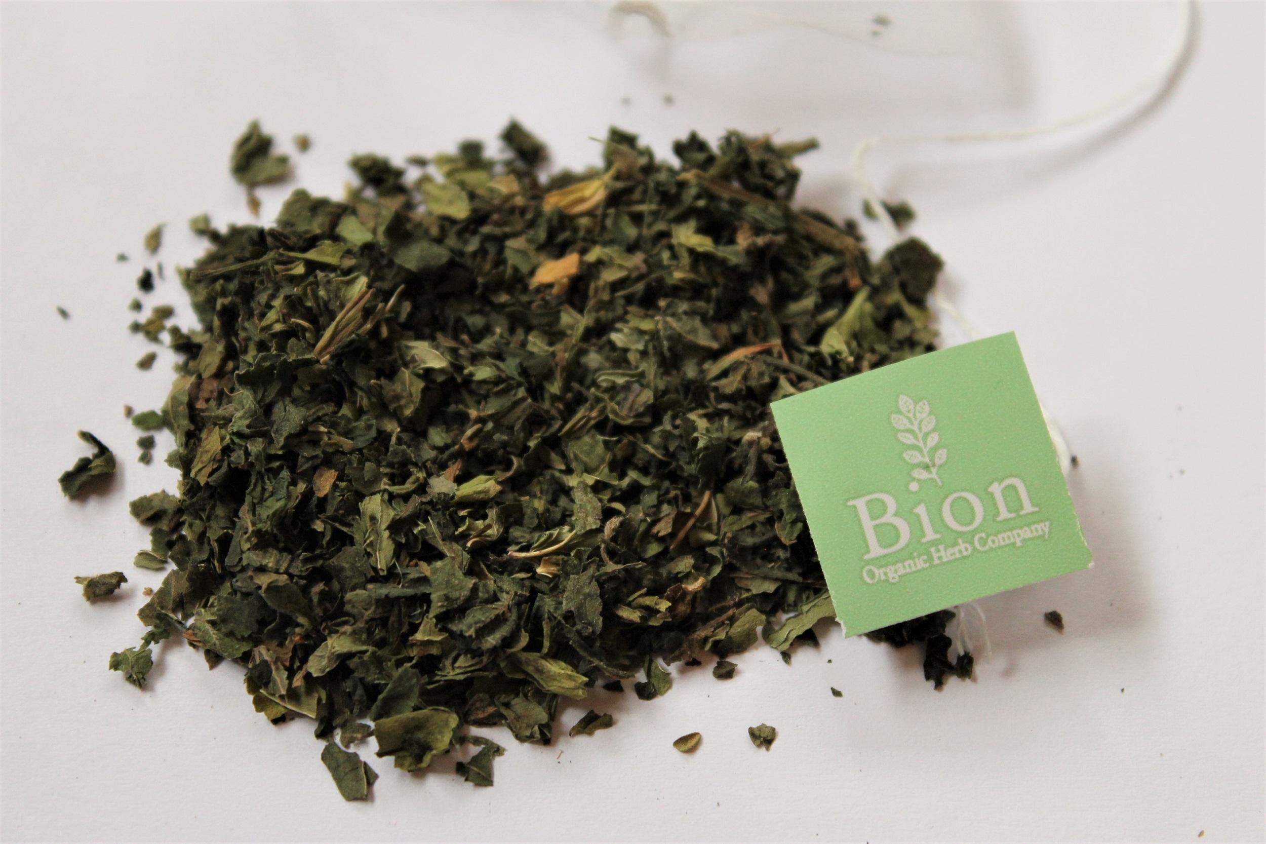 mint nettle leaf dried herbs