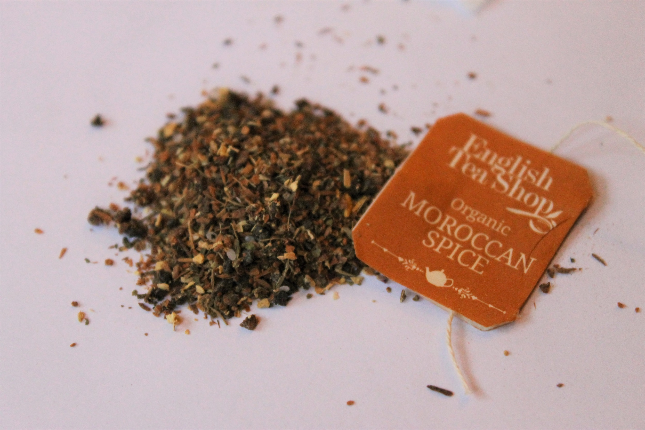 organic moroccan spice herbal tea