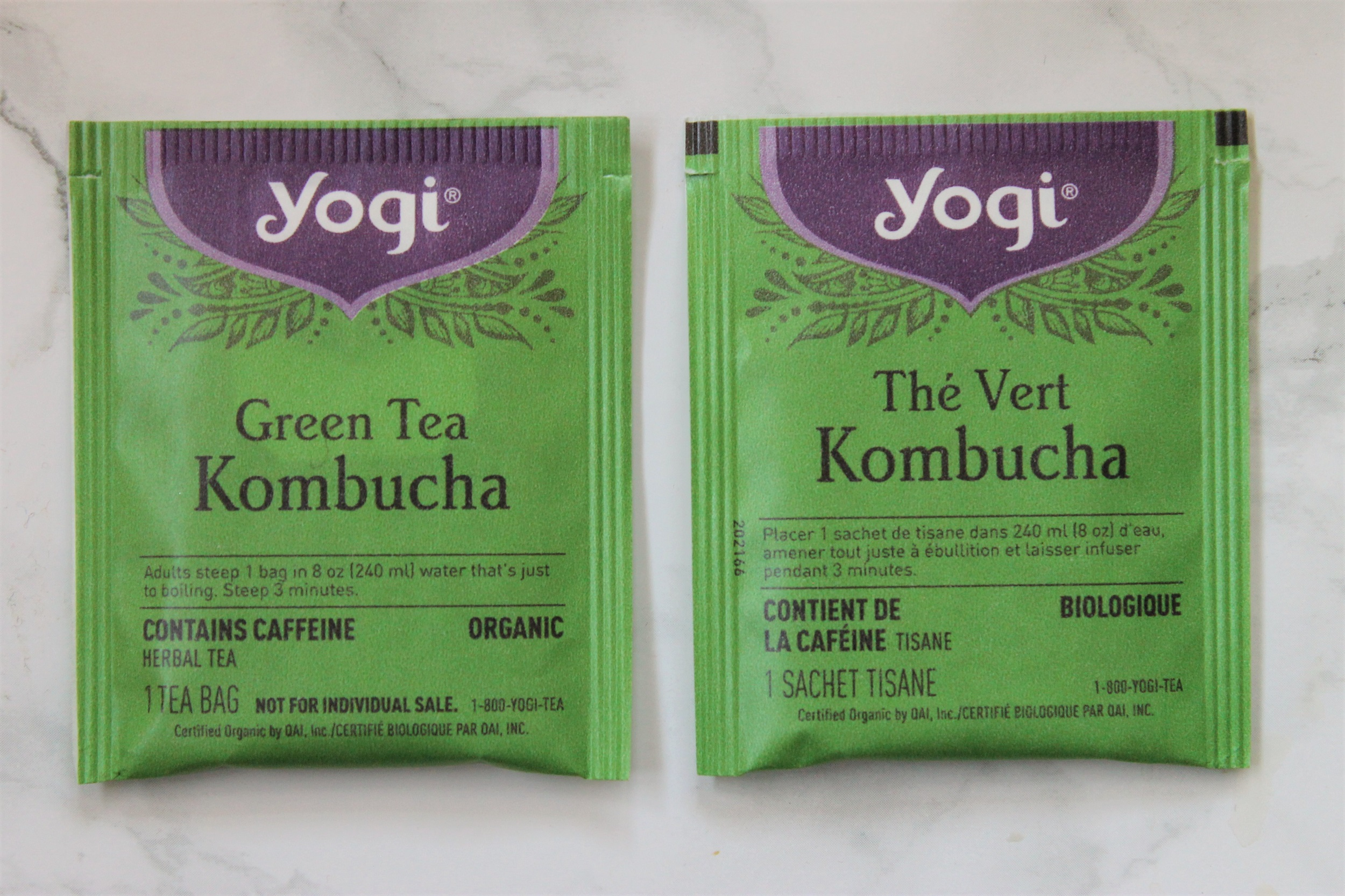 yogi tea green kombucha teabags