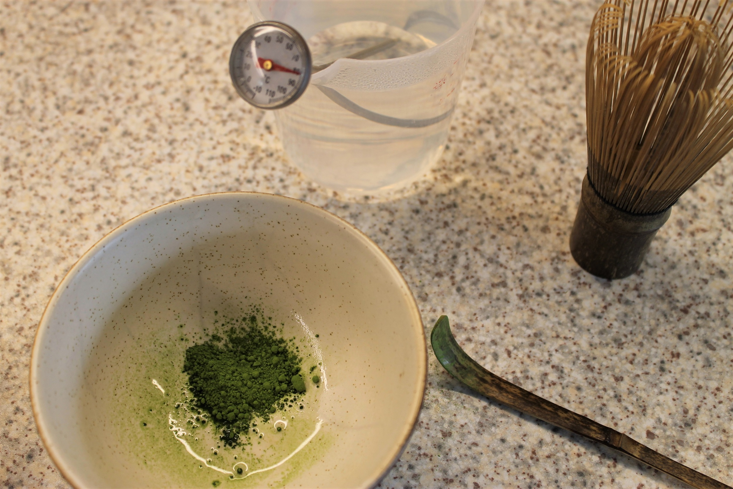 making matcha