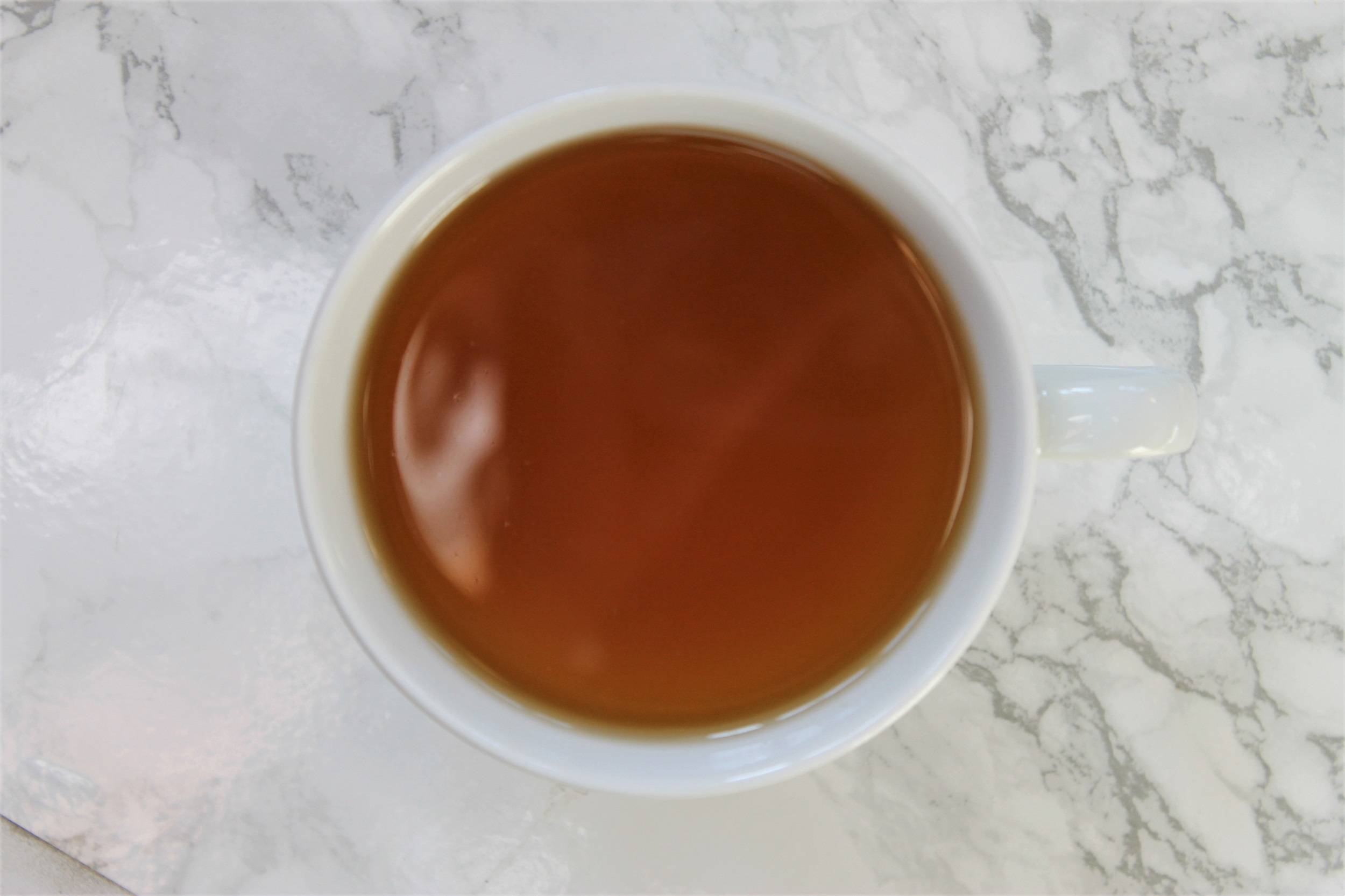 cup of licorice tea