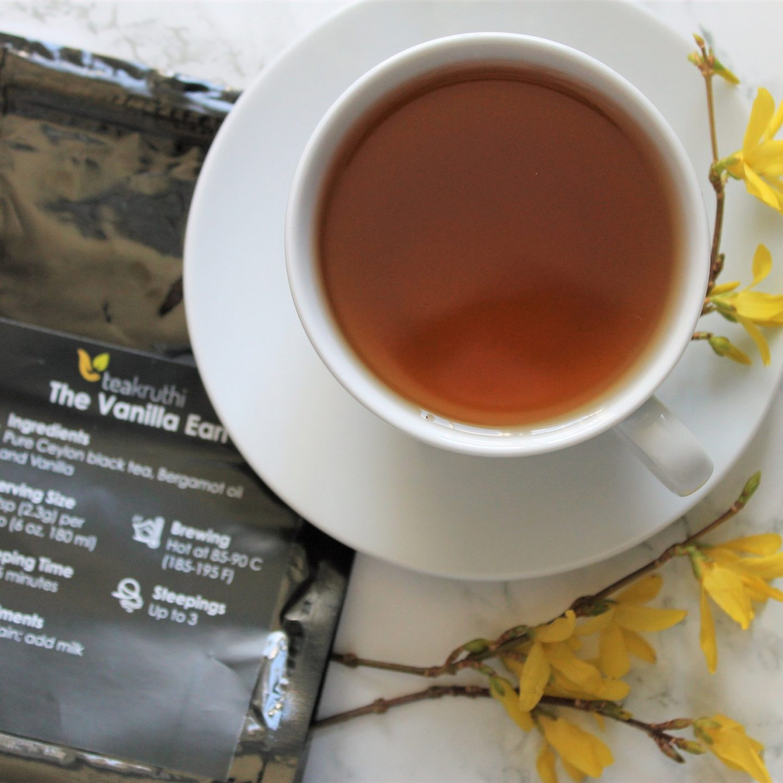 Teakruthi 'The Vanilla Earl' Tea Review