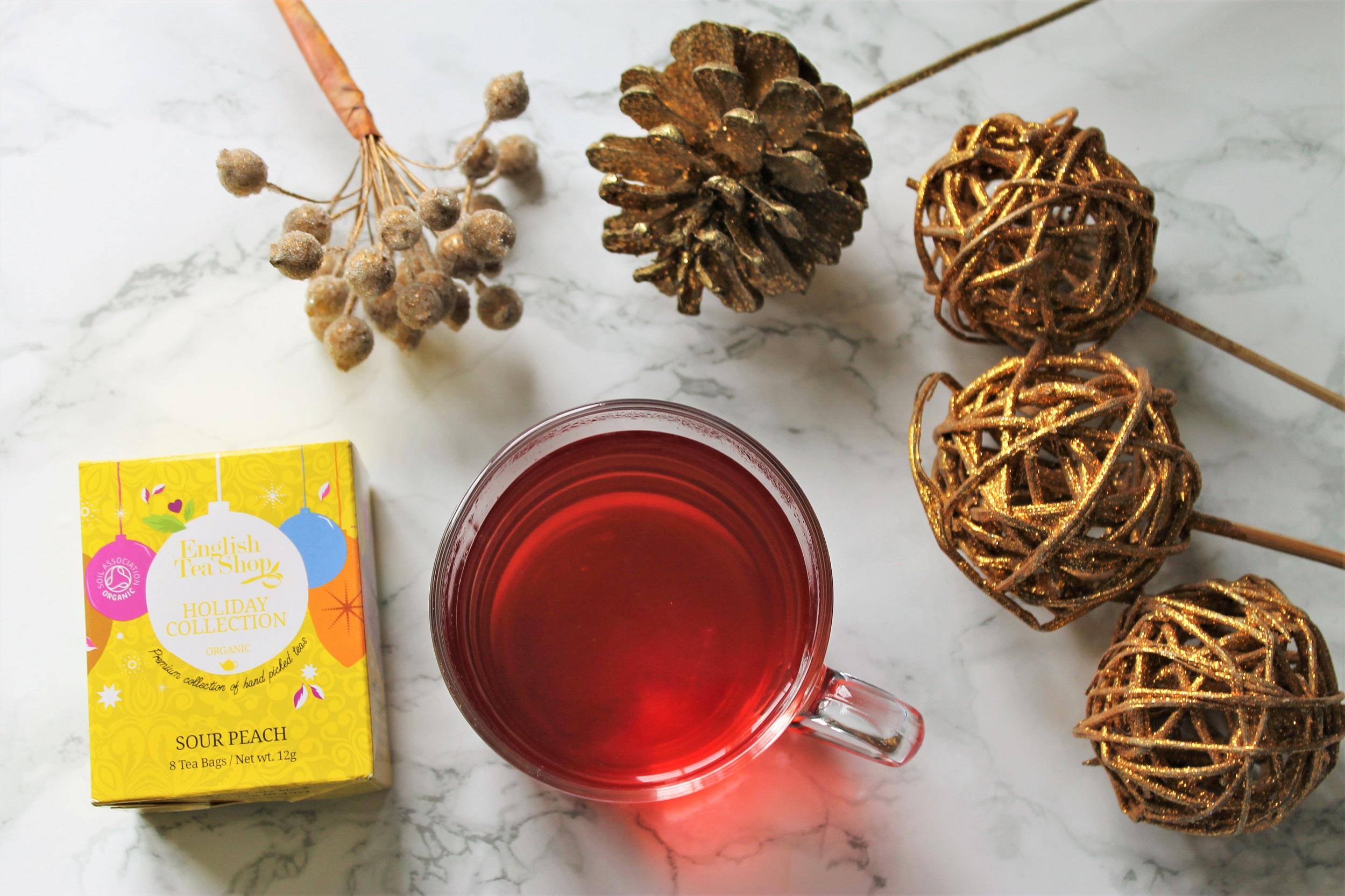 English Tea Shop Sour Peach Tea Review