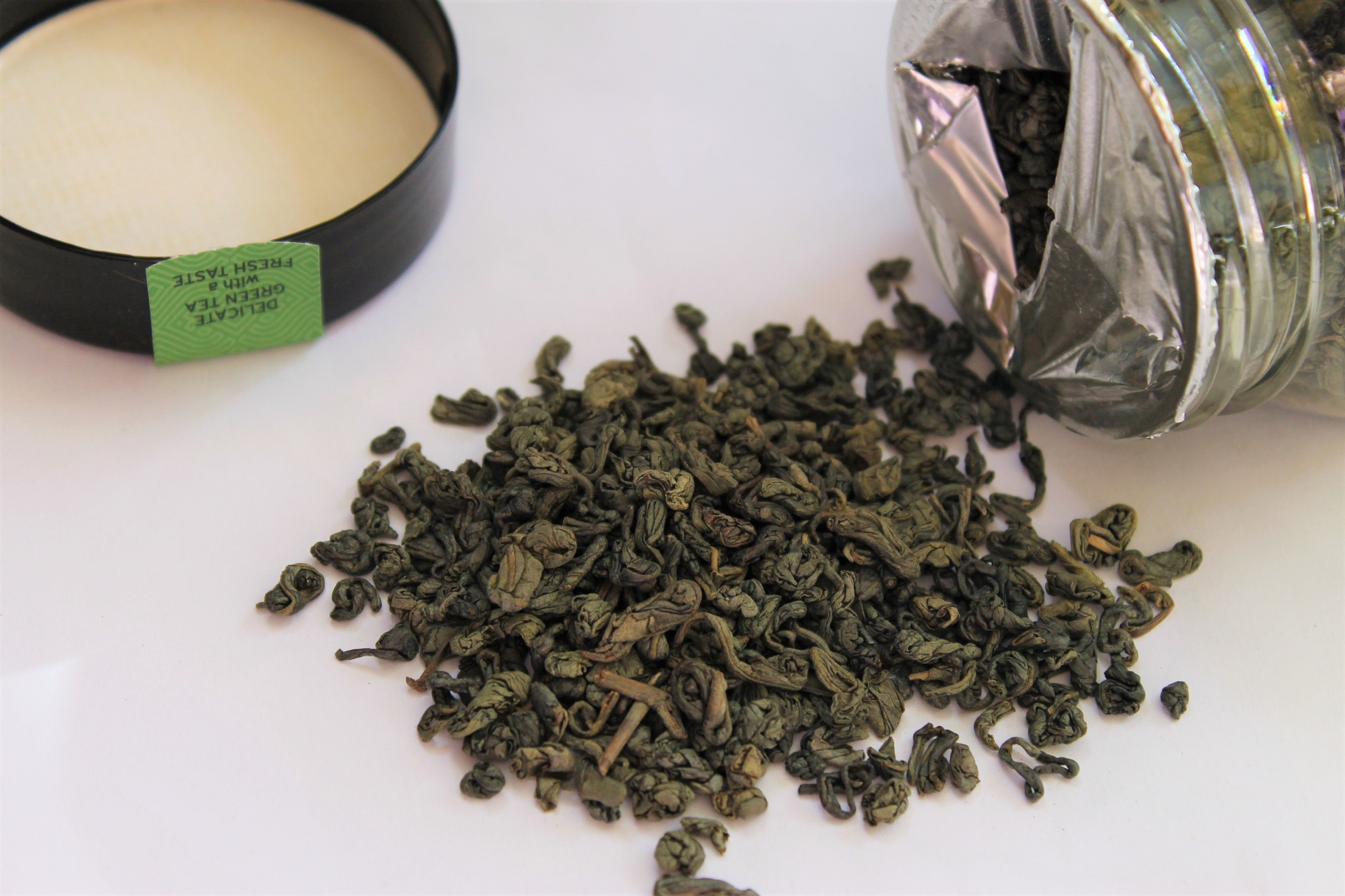 gunpowder green tea pellets