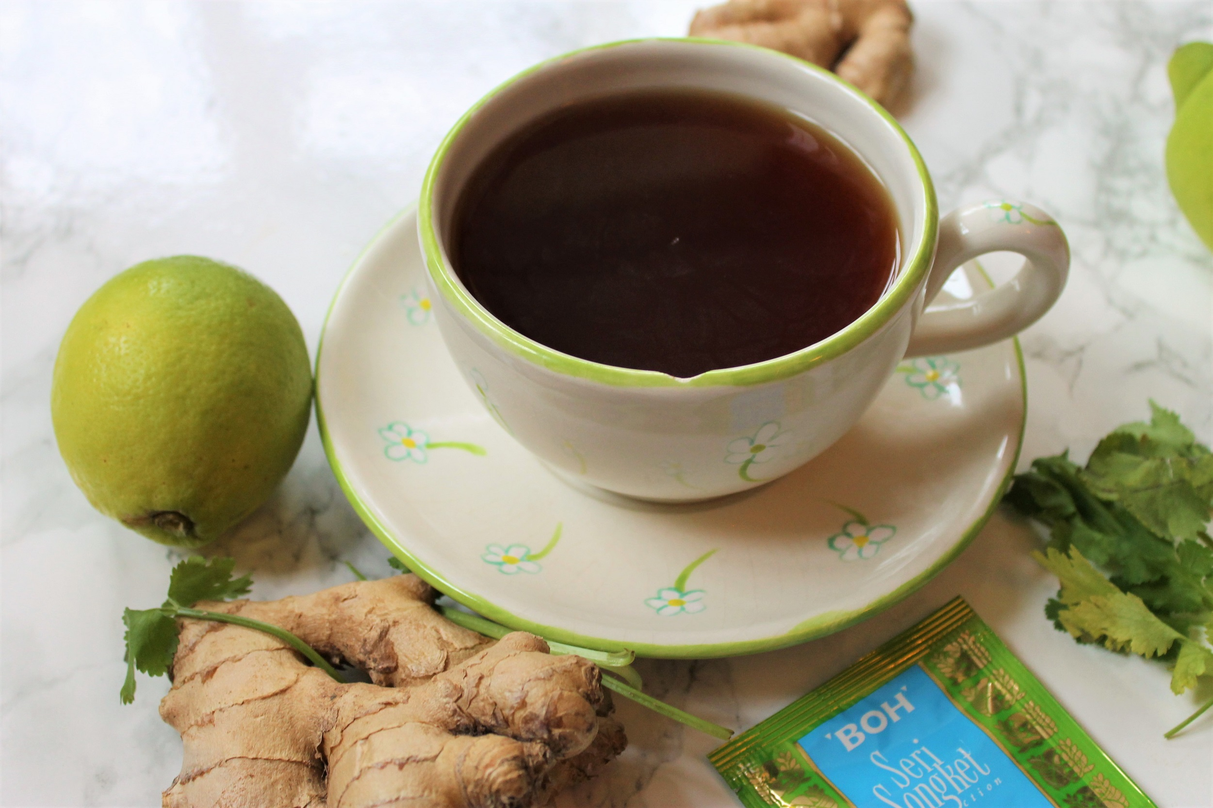 lime and ginger tea review