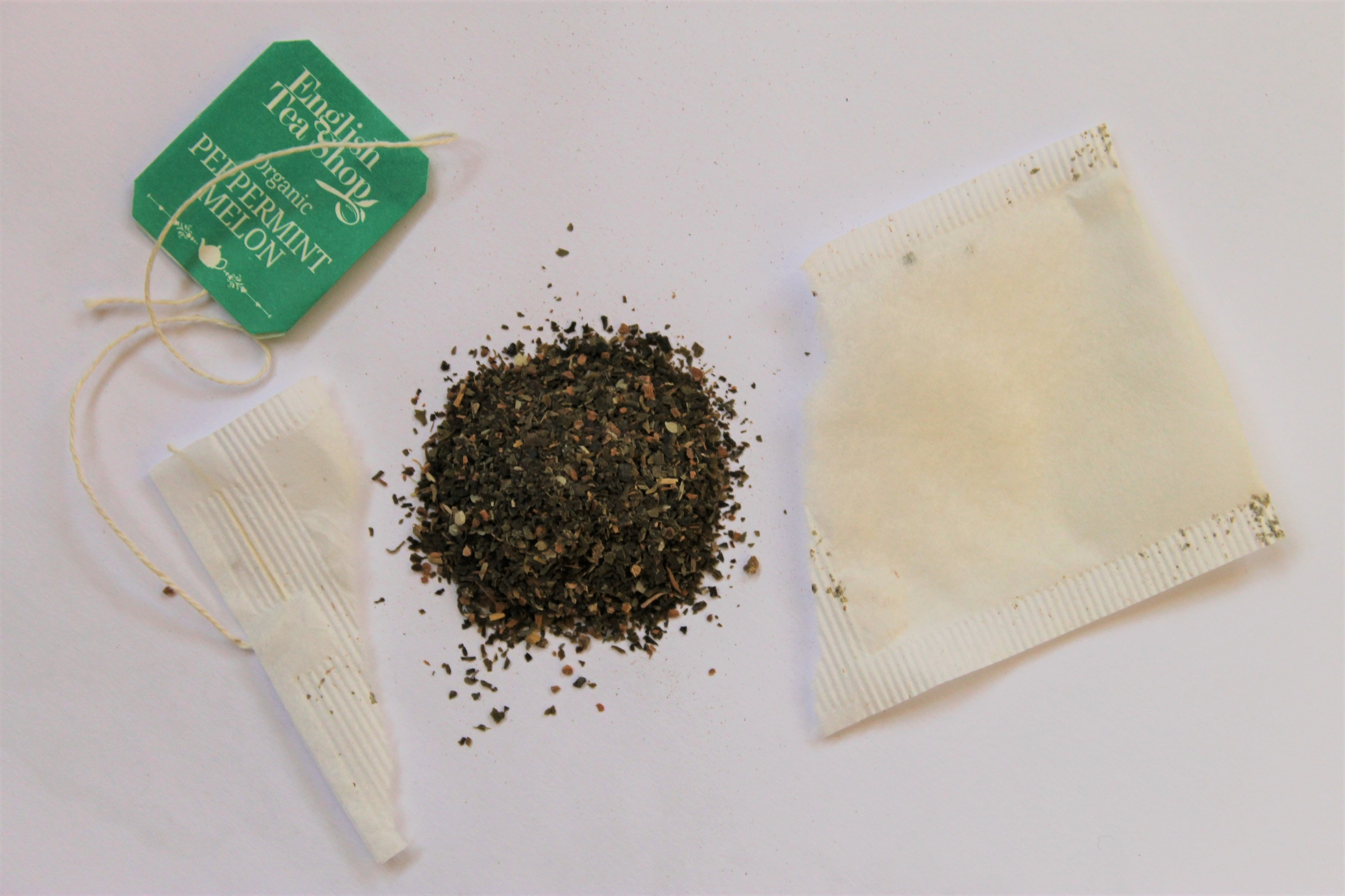 peppermint leaf melon flavouring tea bag