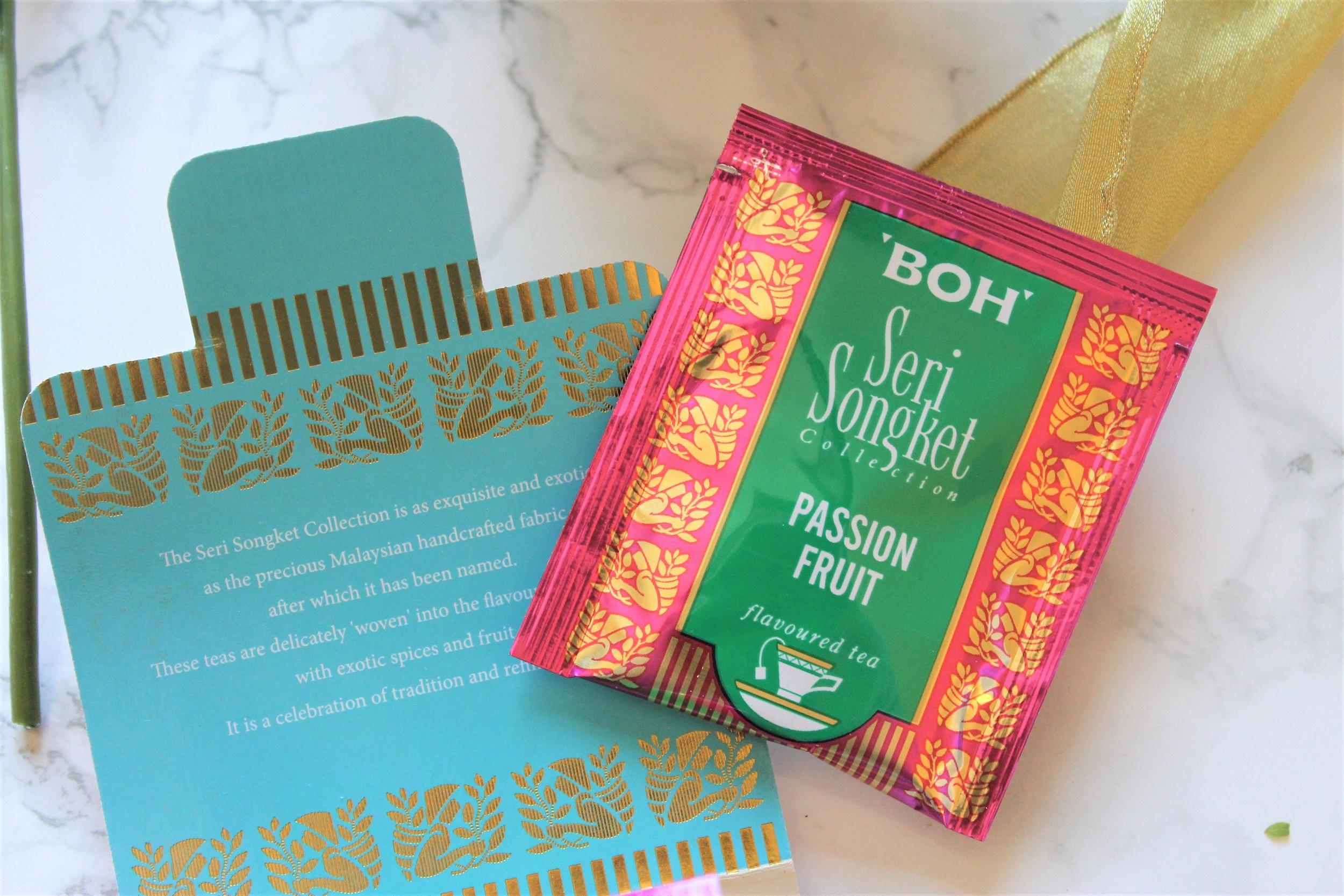 boh passion fruit tea bag