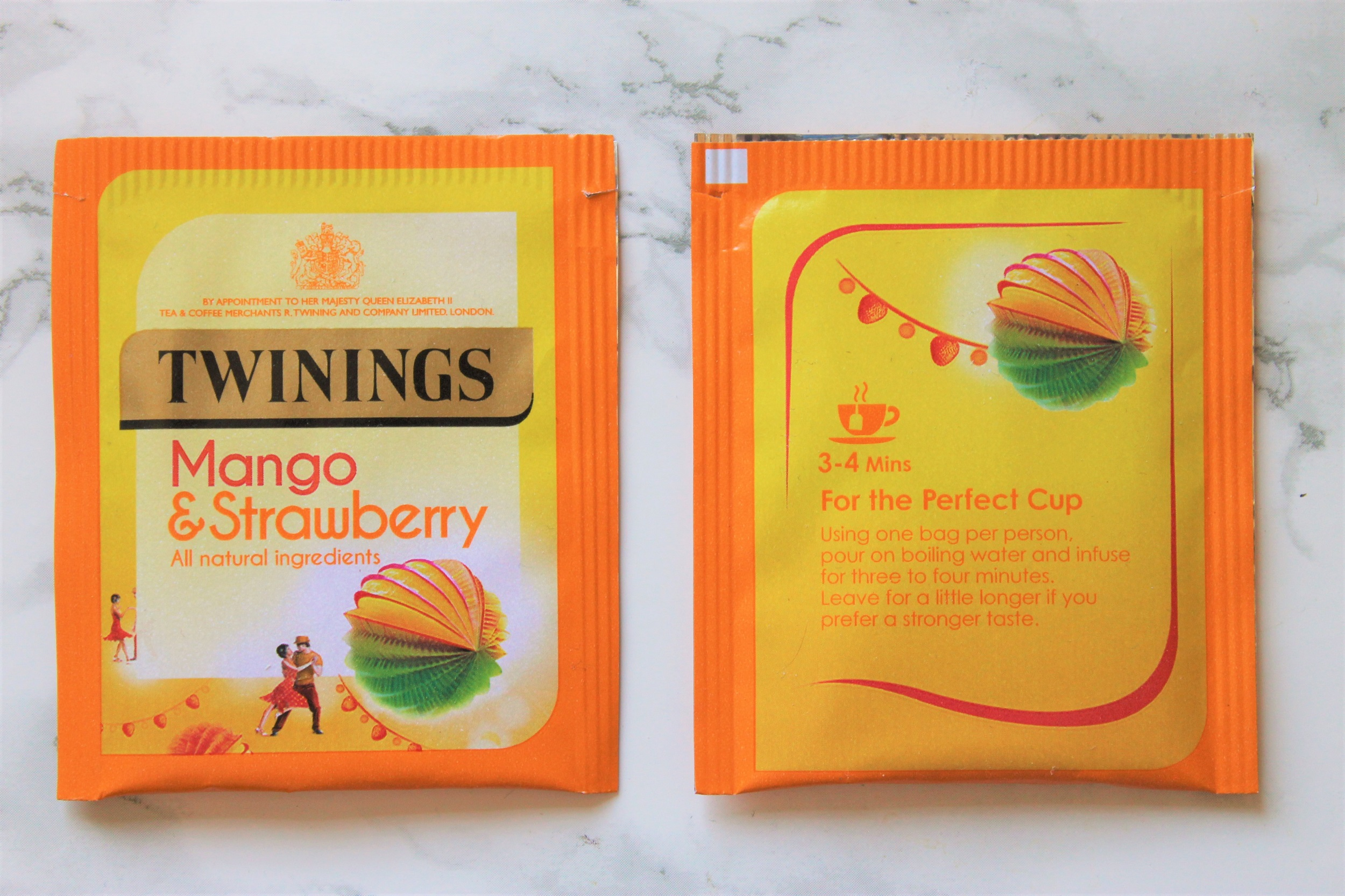 twinings mango strawberry tea