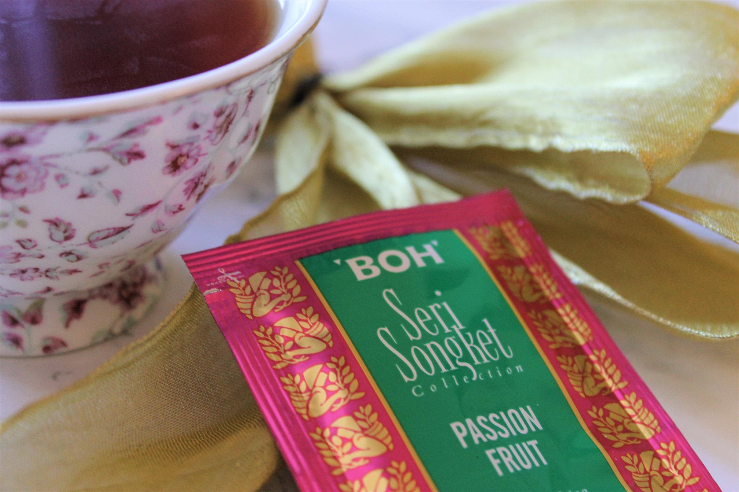 passion fruit flavoured black tea