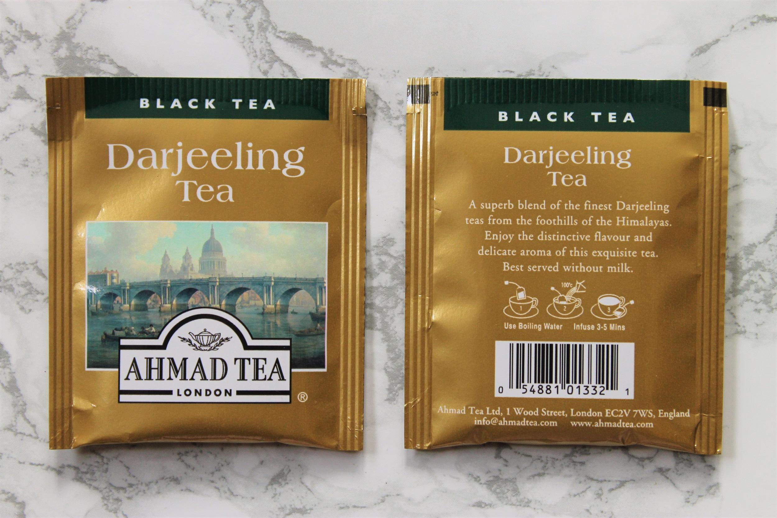 darjeeling tea bags ahmad