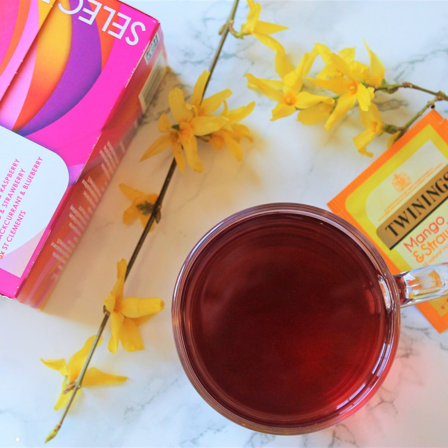 Twinings Mango & Strawberry Tea Review