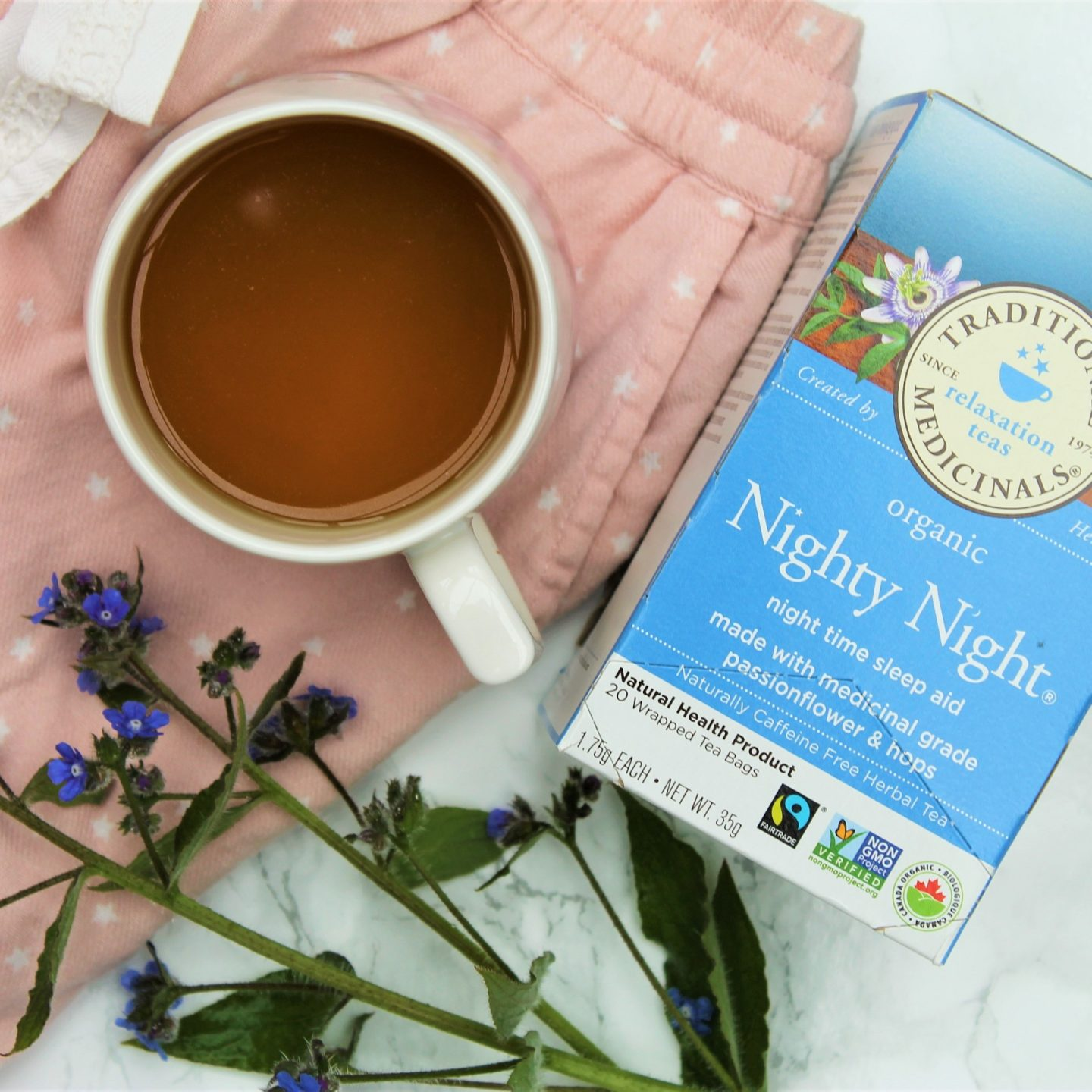 Traditional Medicinals Nighty Night Tea Review