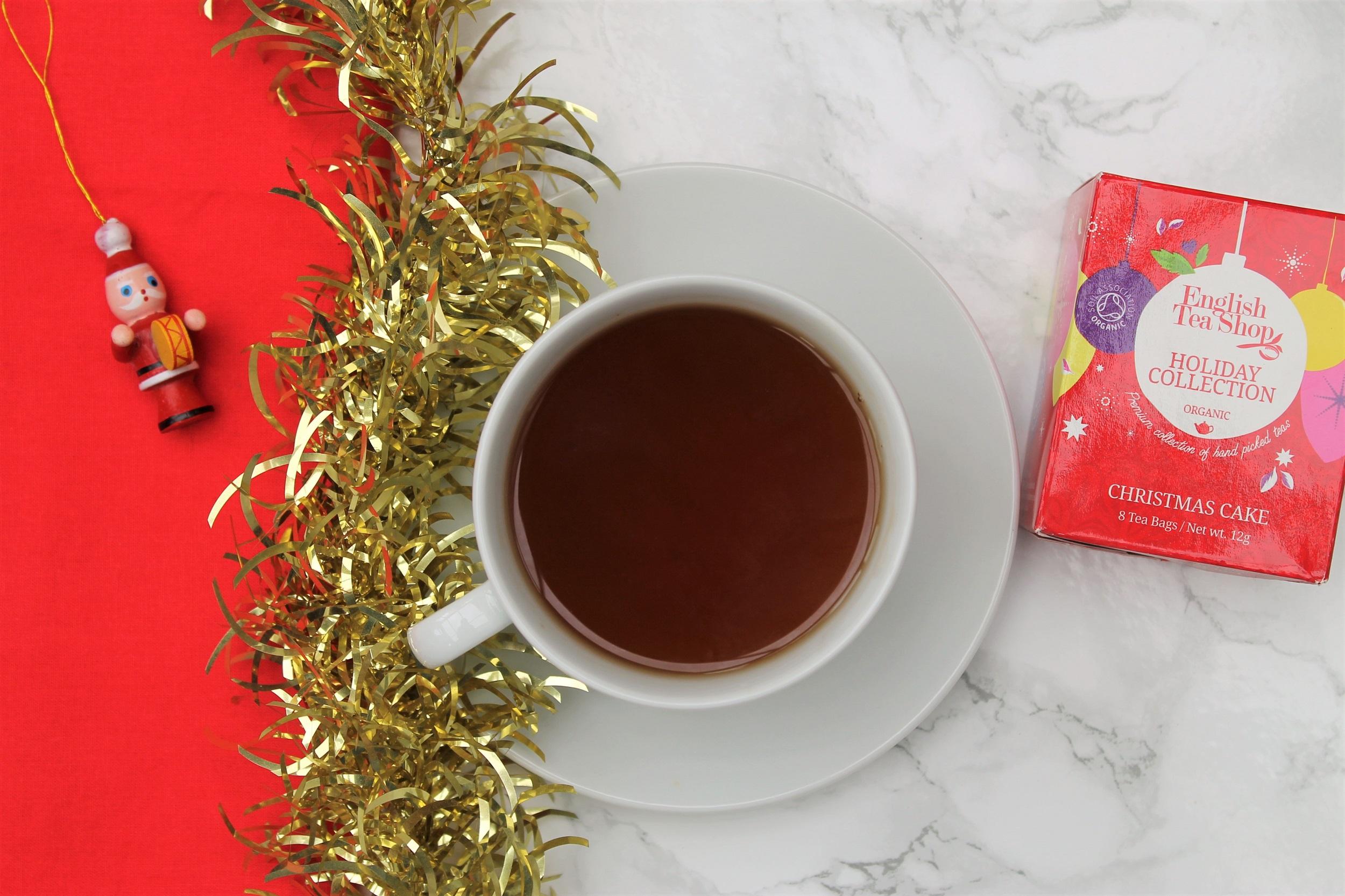 English Tea Shop Christmas Cake Tea Review