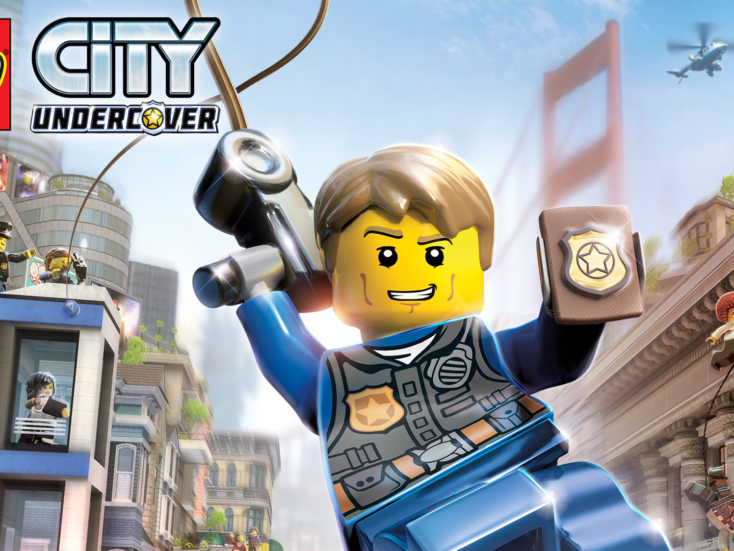 Lego City Undercover – Our First Two Person Game Review!