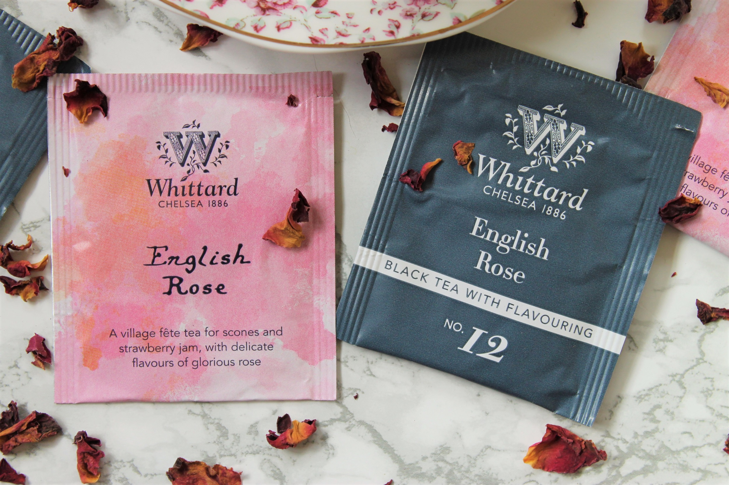 whittard english rose teabags
