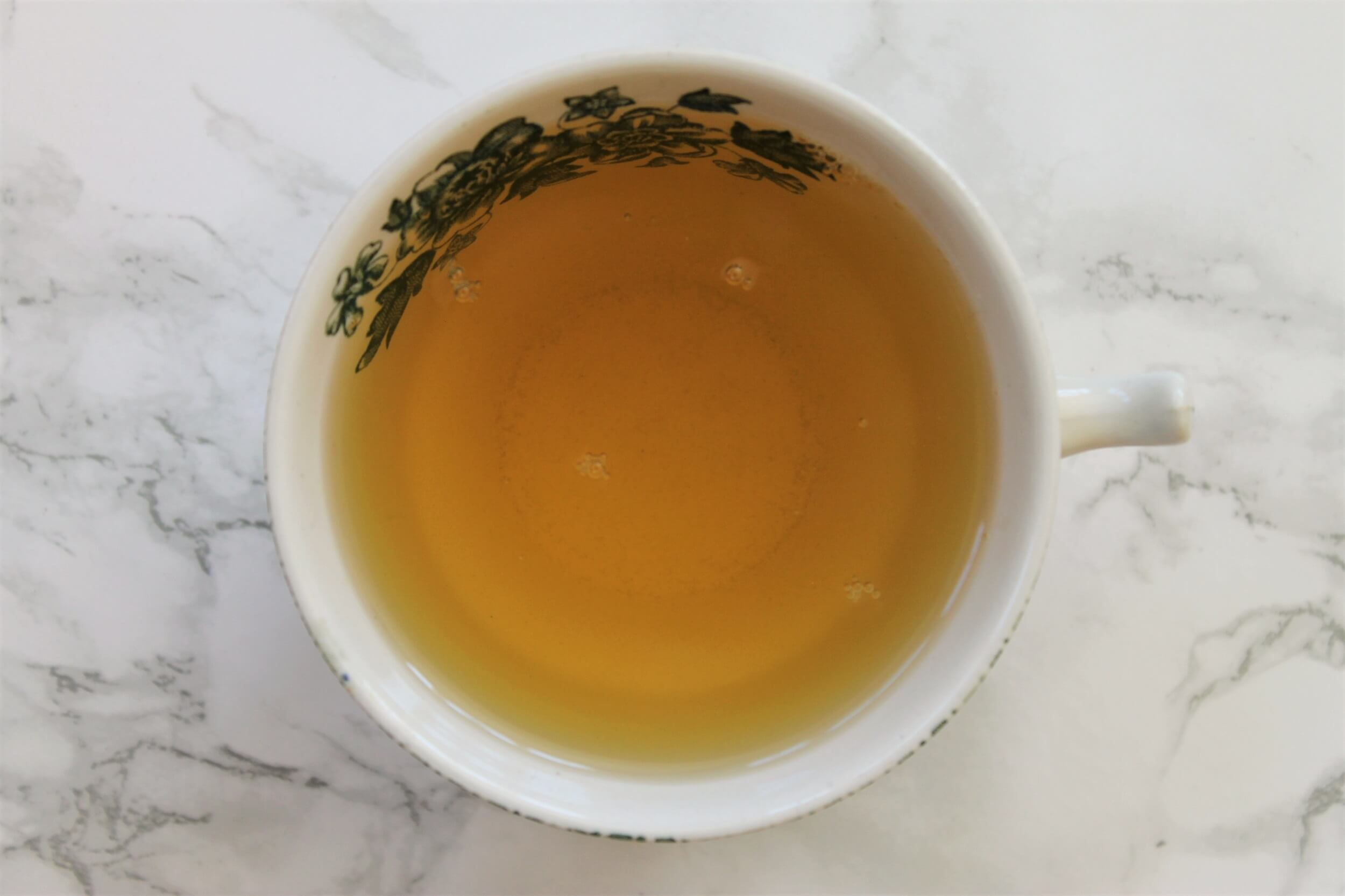 strawberry flavoured green tea