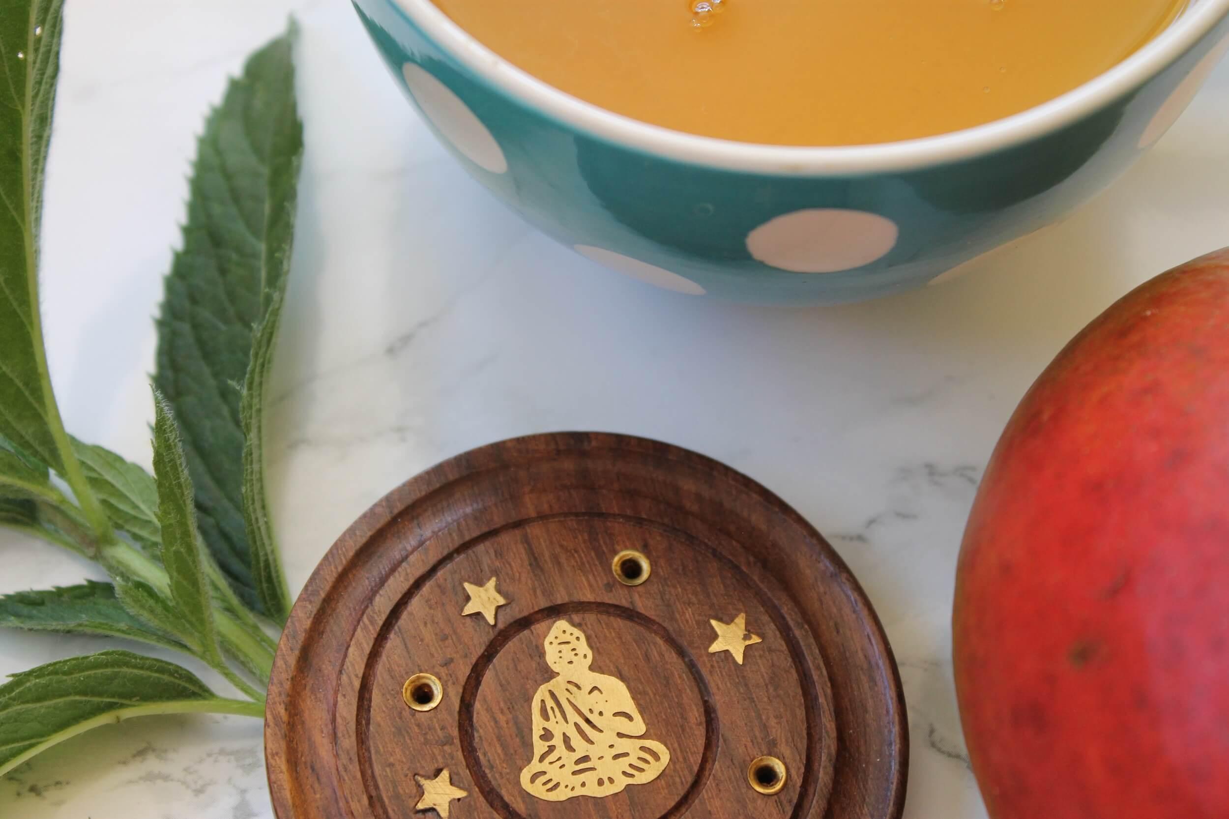 vanilla mint and mango flavoured tea