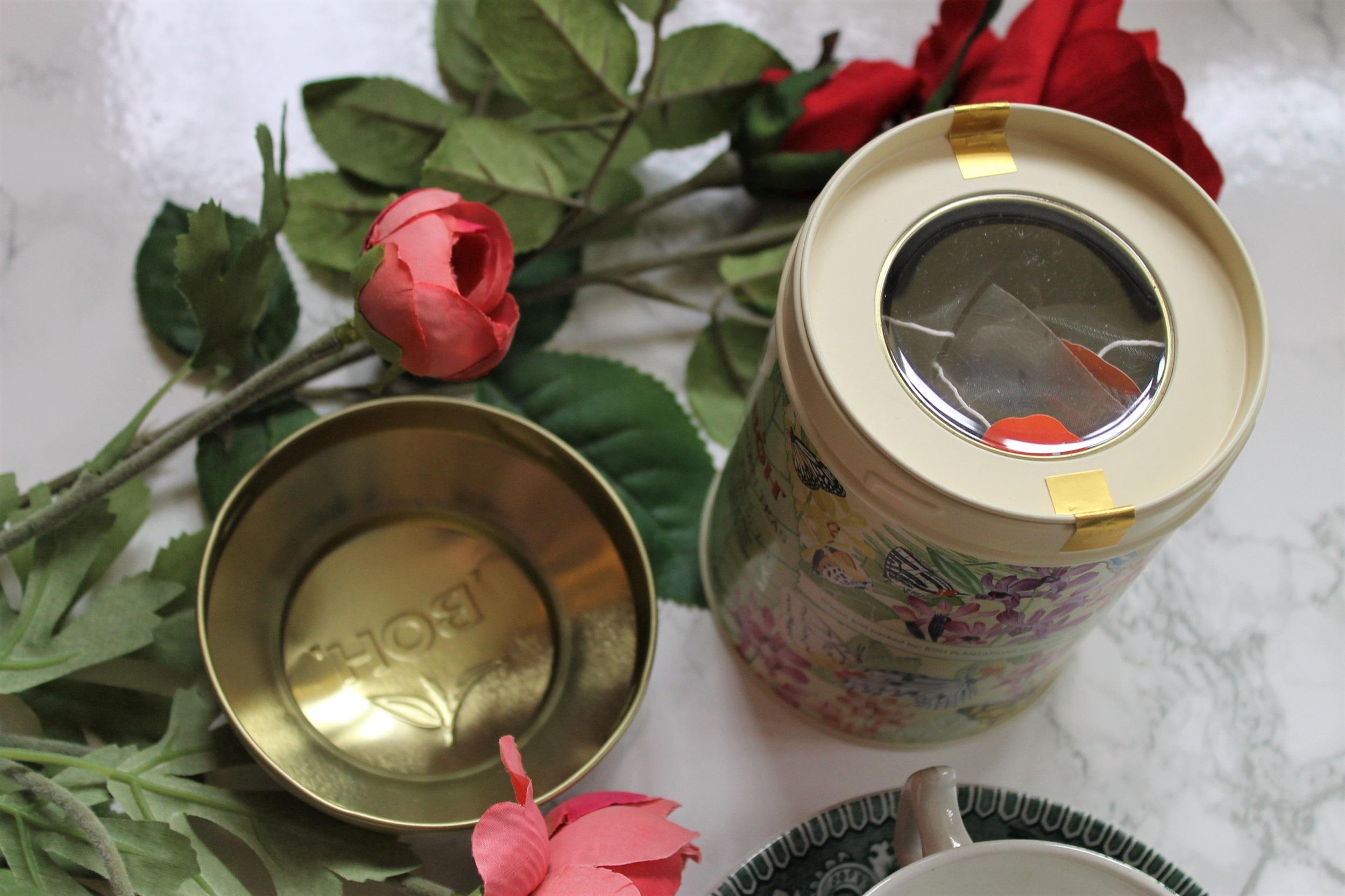 boh garden teas tin