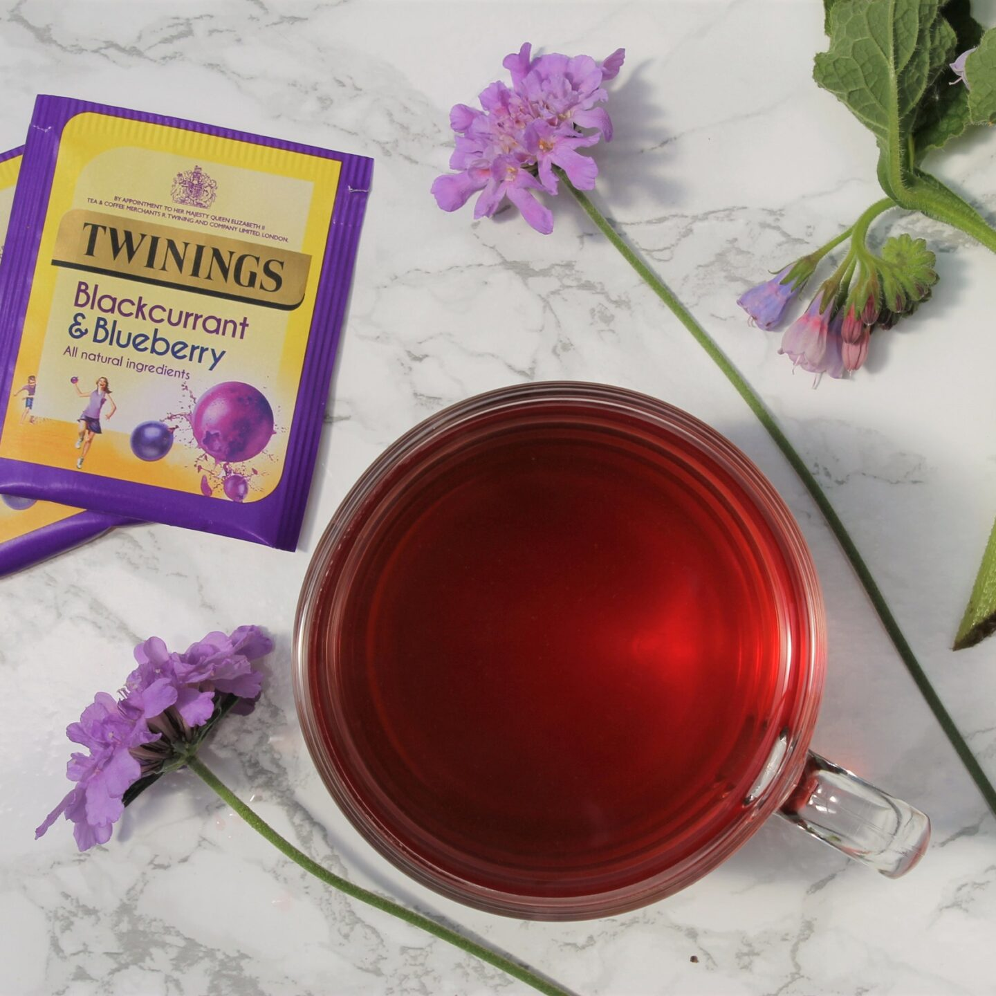 Twinings Blackcurrant & Blueberry Tea Review