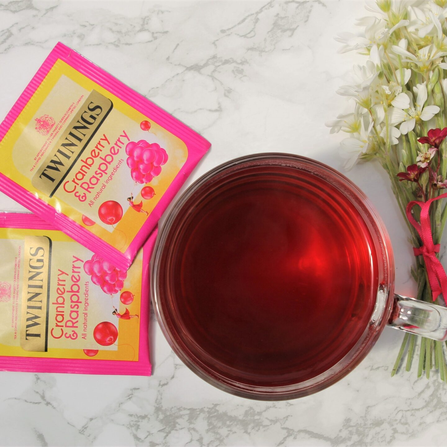 Twinings Cranberry & Raspberry Tea Review