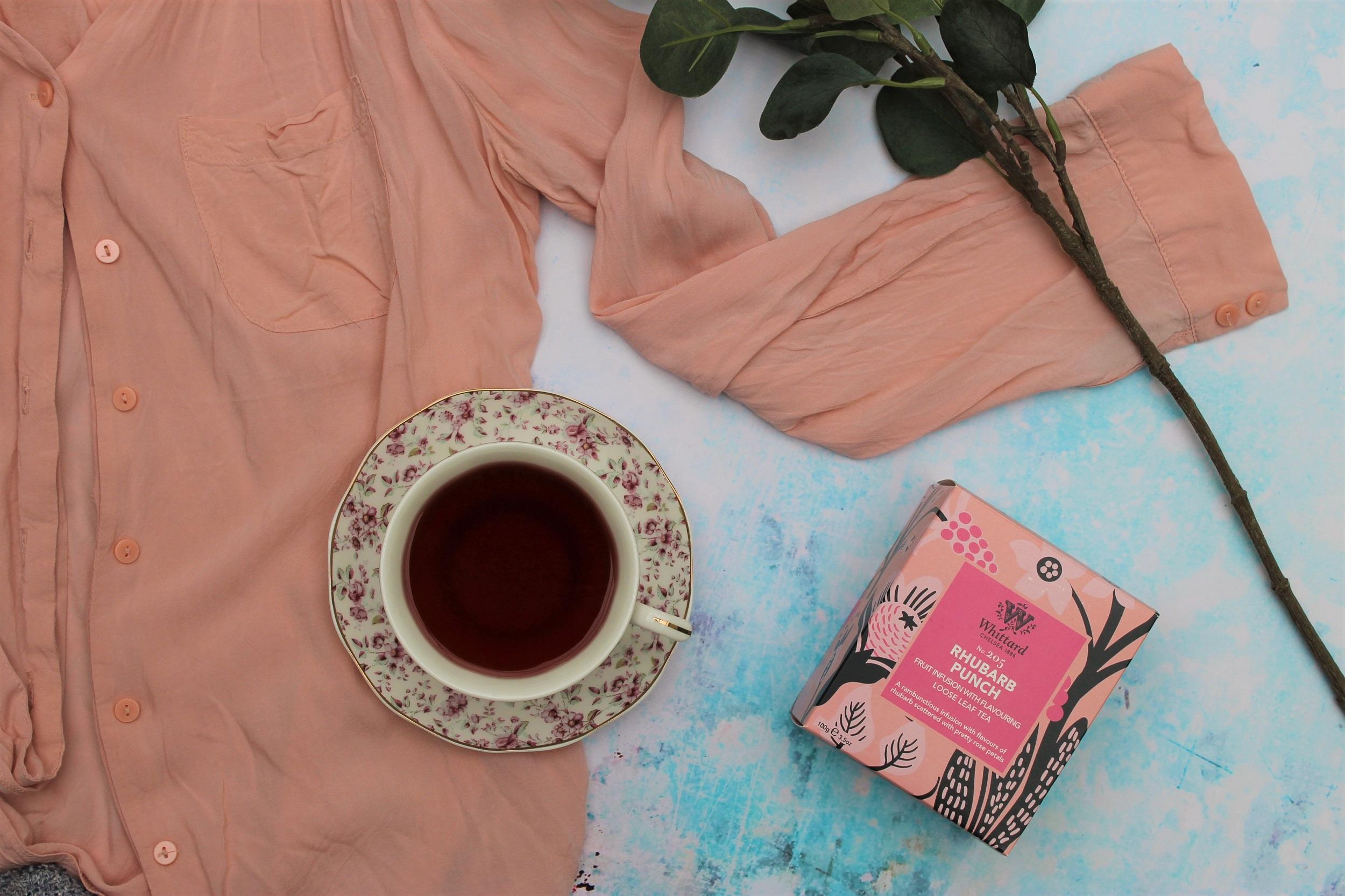 Whittard Rhubarb Punch Fruit Tea Review