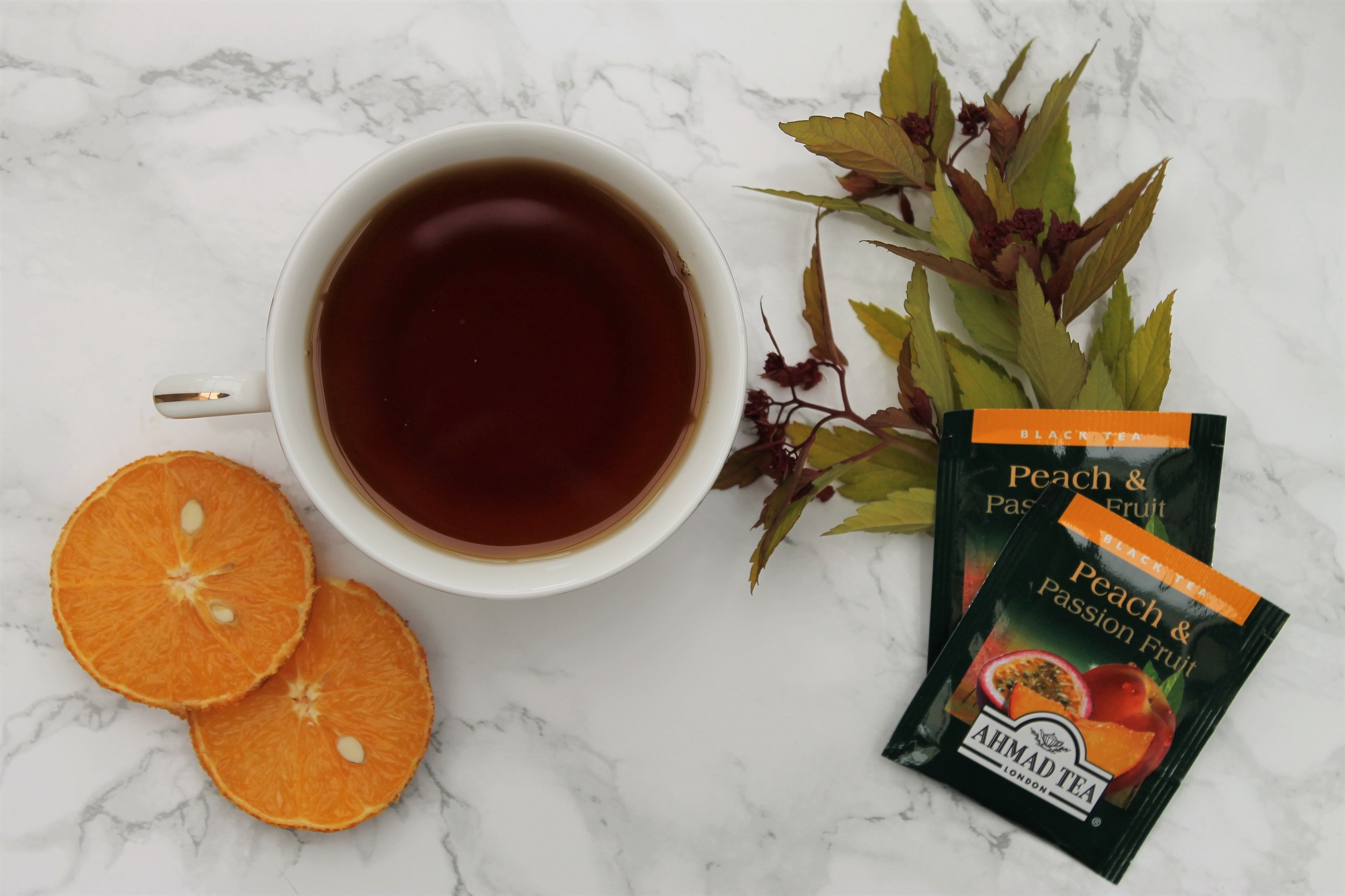 Ahmad Tea Peach & Passionfruit Tea Review