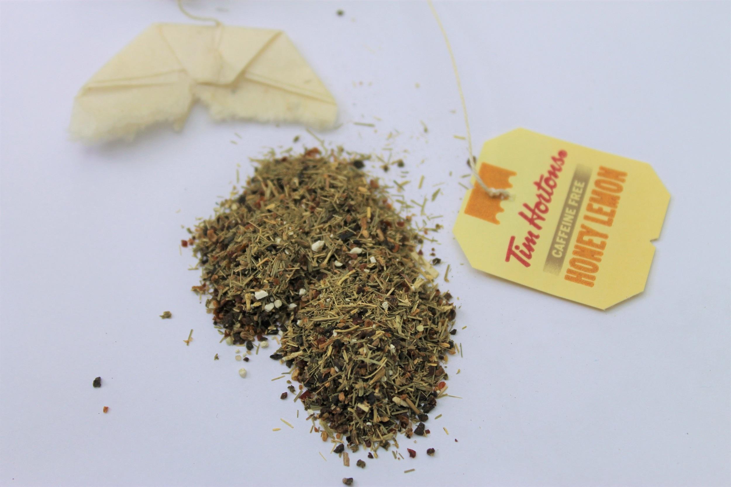 herbal tea lemongrass honey