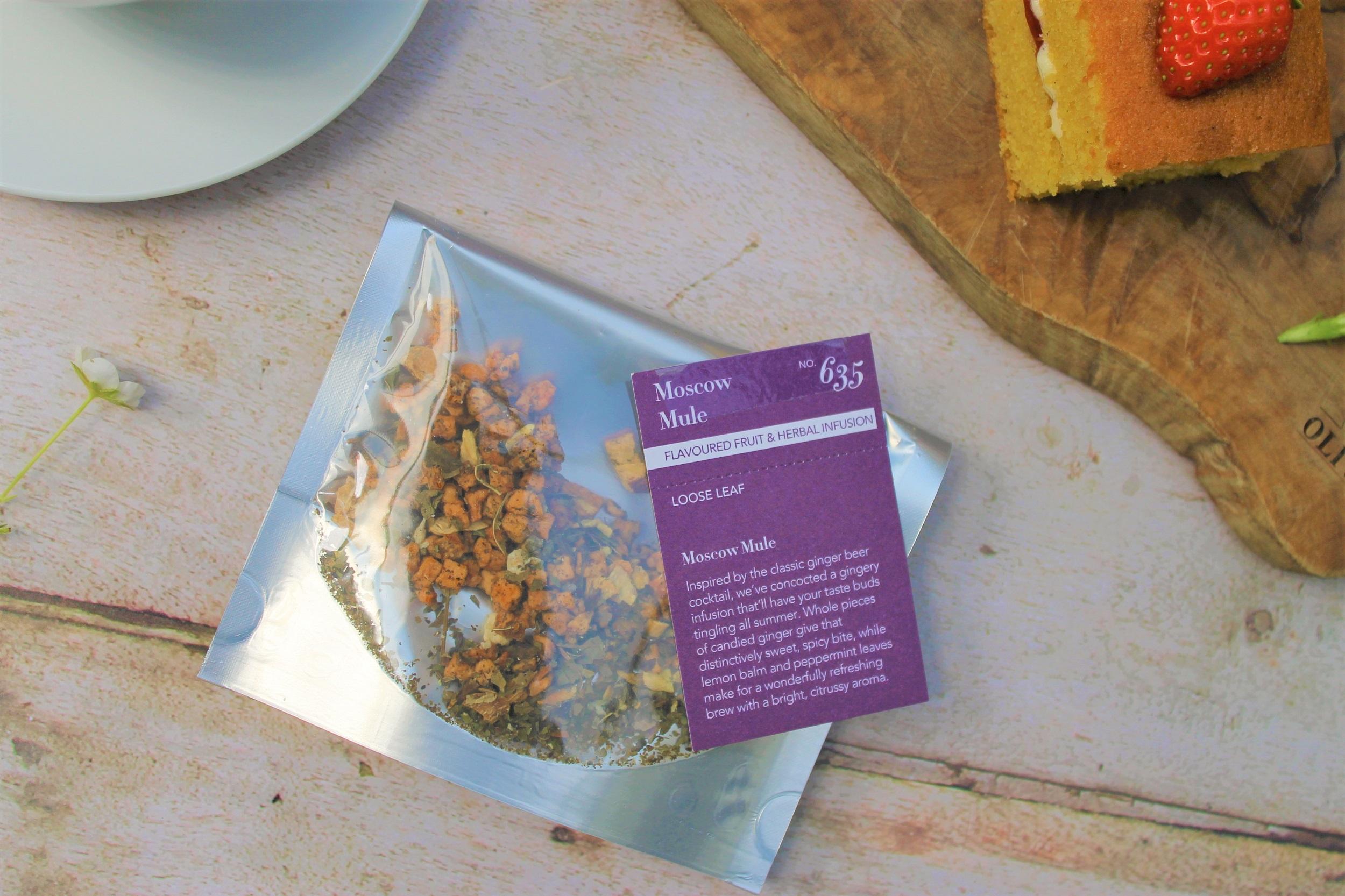 moscow mule herbal tea blend