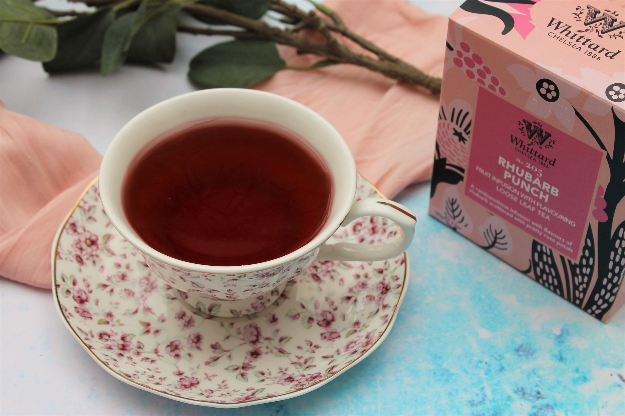 rhubarb punch fruit tea review