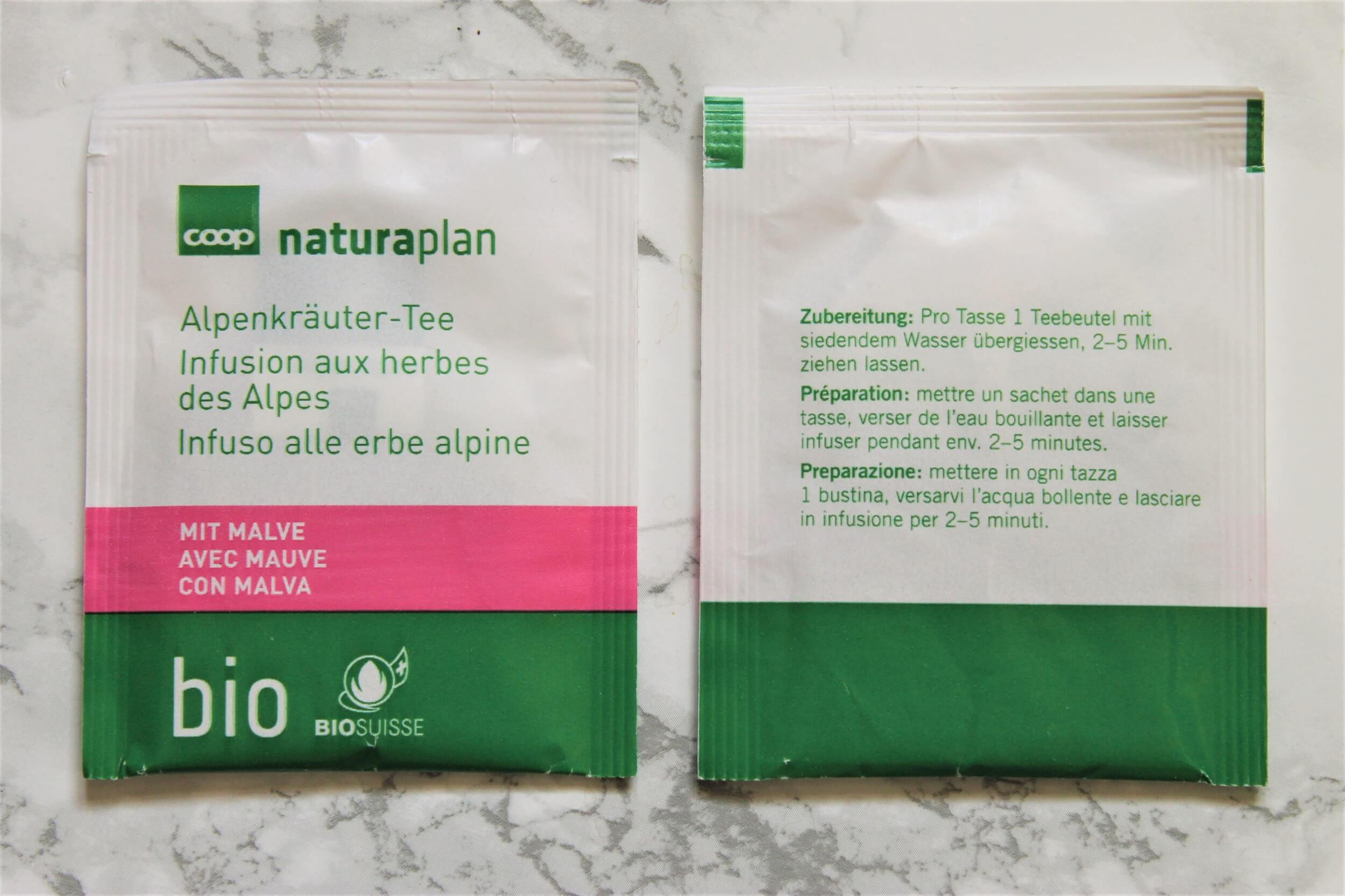 naturaplan alpine herbal tea