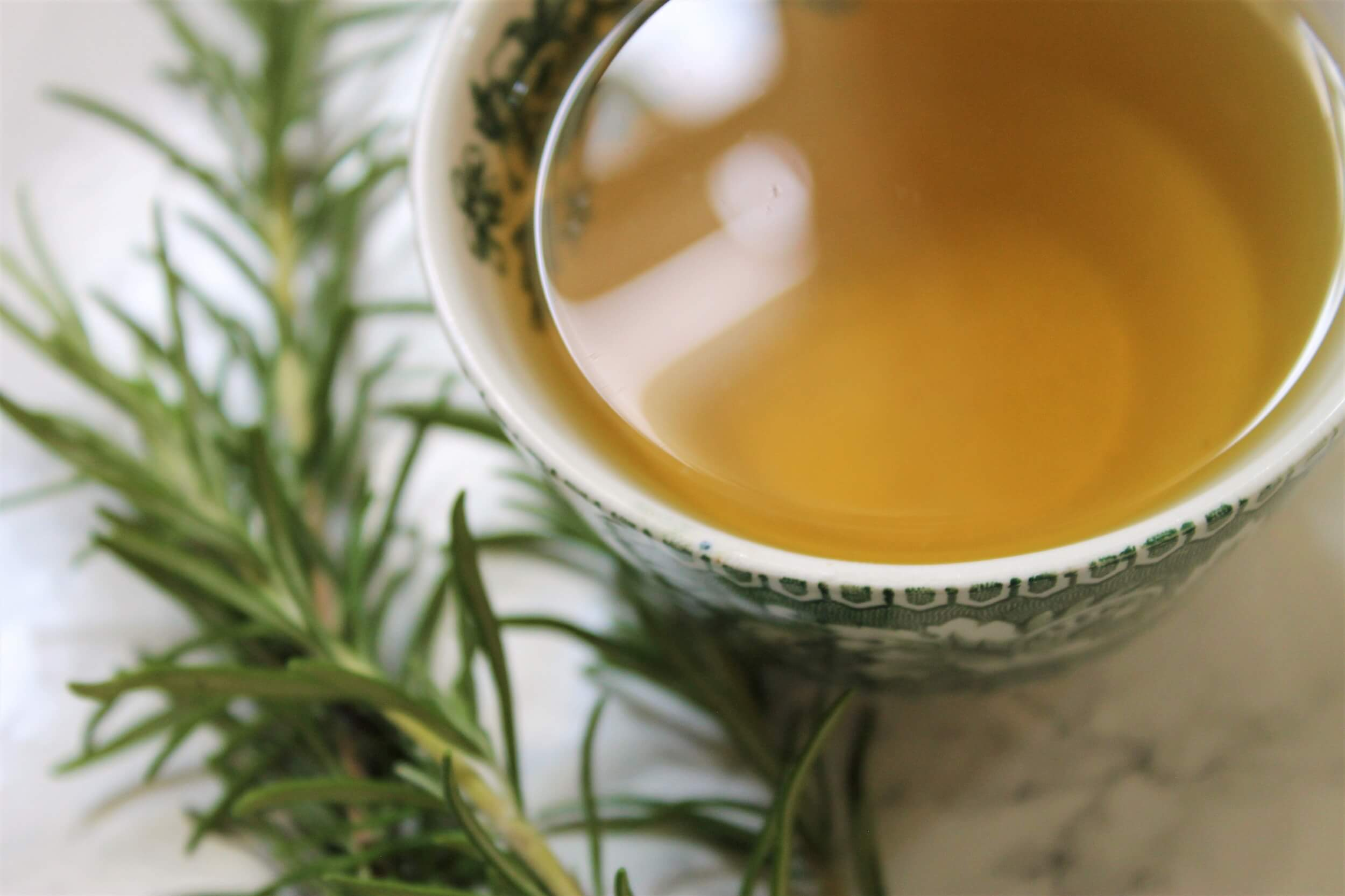 herbal infusion from the alps